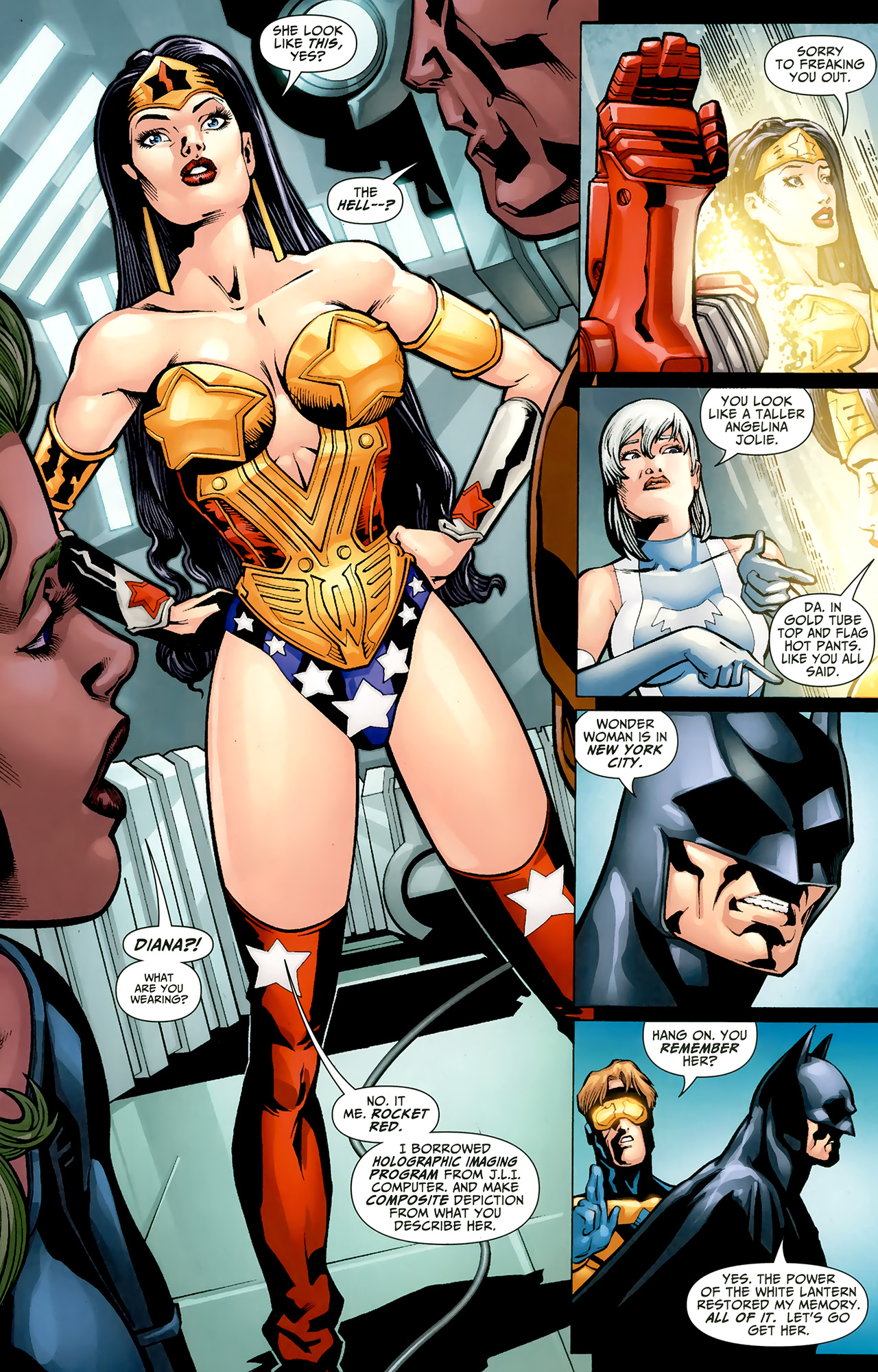 Read online Justice League: Generation Lost comic -  Issue #22 - 14