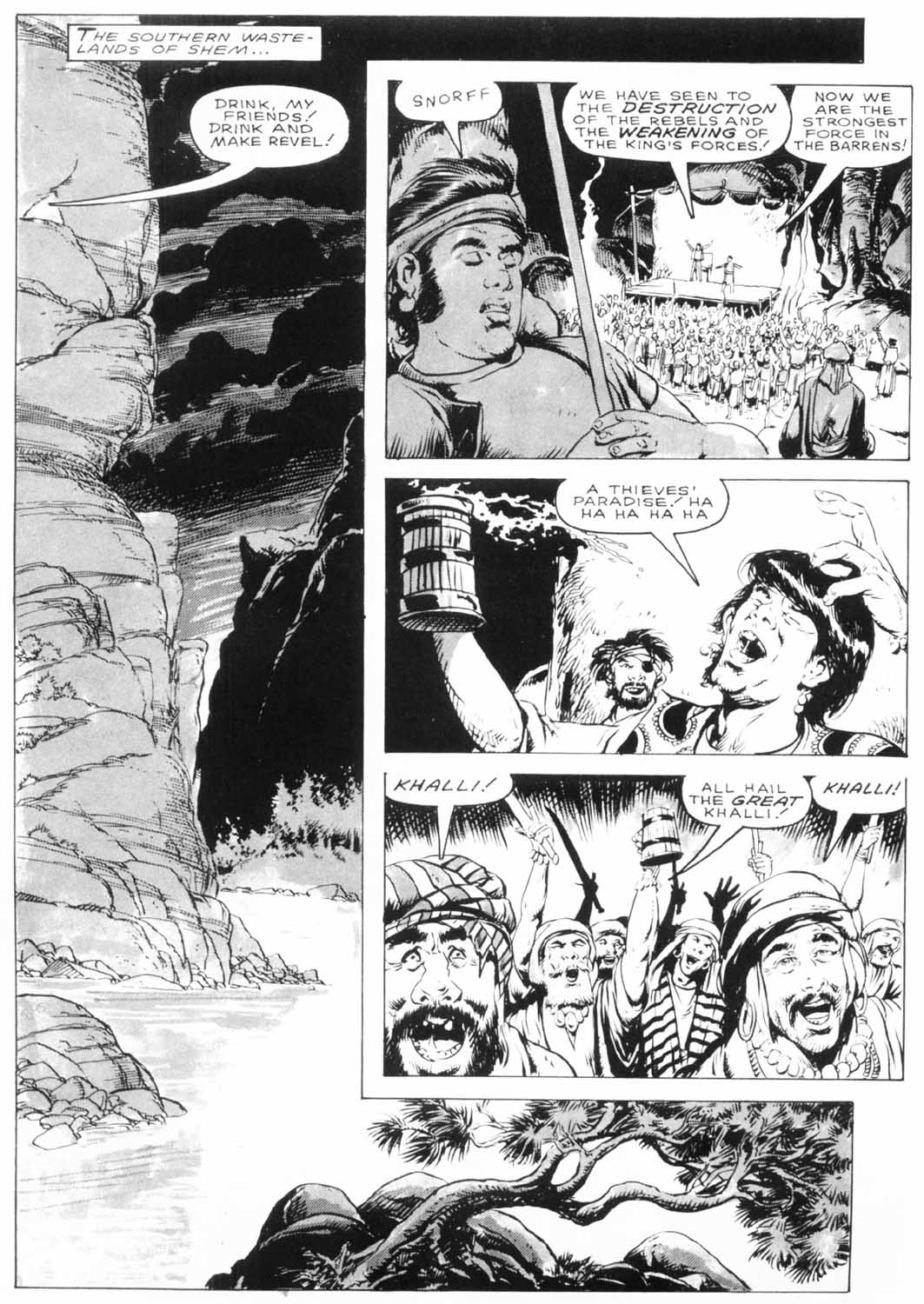The Savage Sword Of Conan Issue #154 #155 - English 5