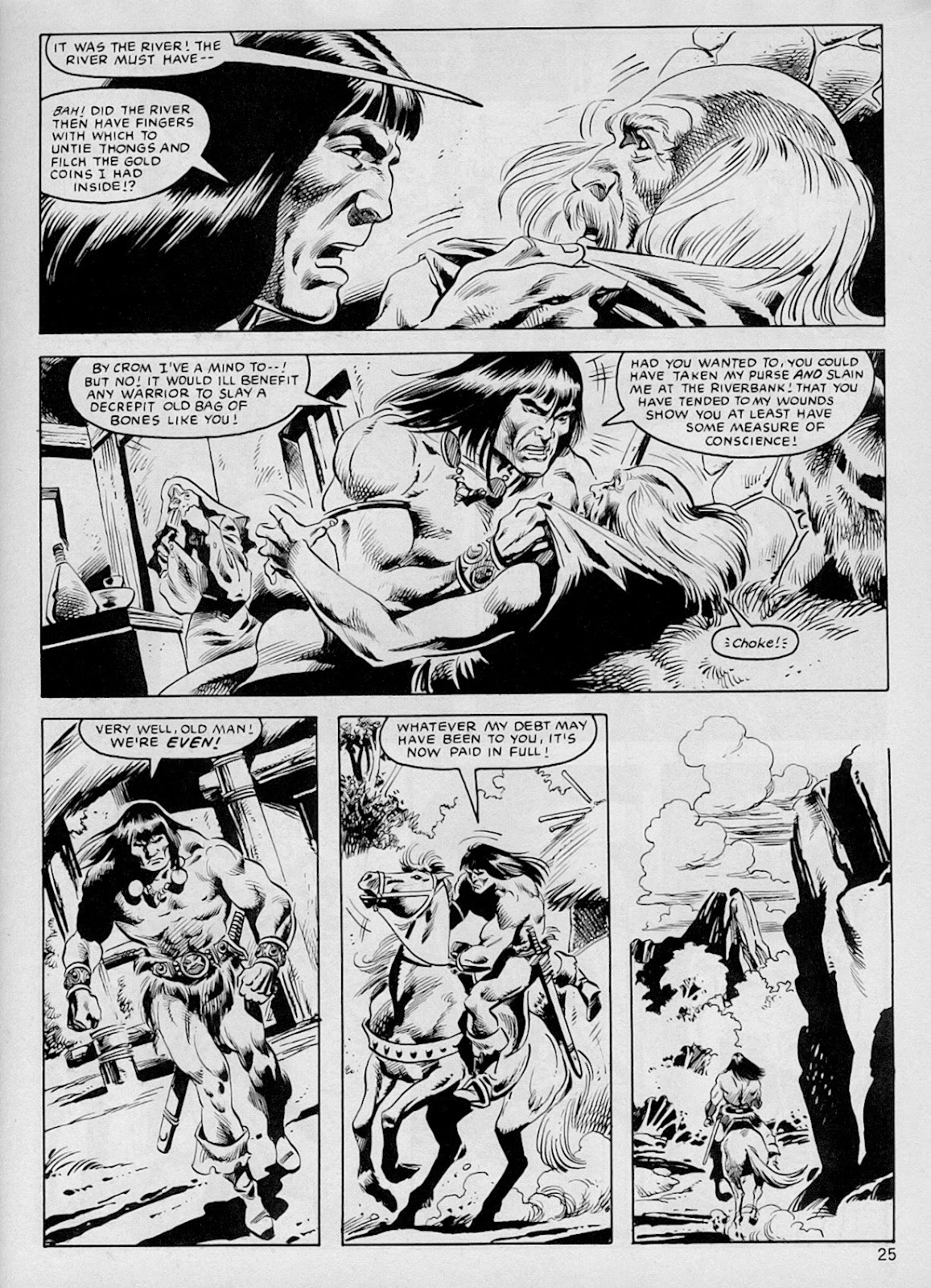 The Savage Sword Of Conan Issue #103 #104 - English 24