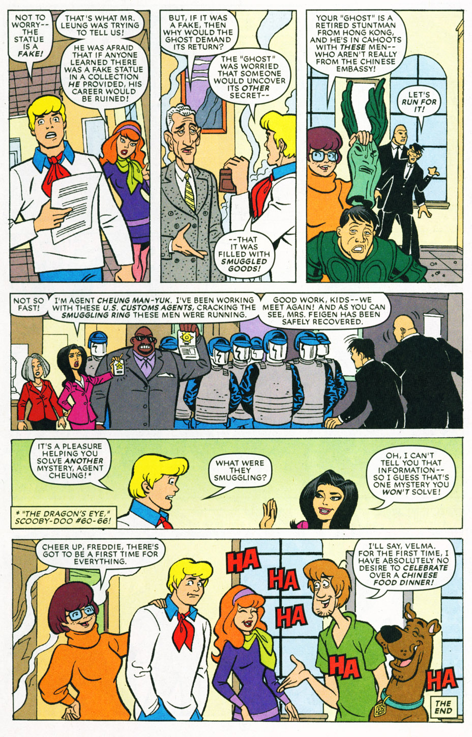 Read online Scooby-Doo (1997) comic -  Issue #70 - 23