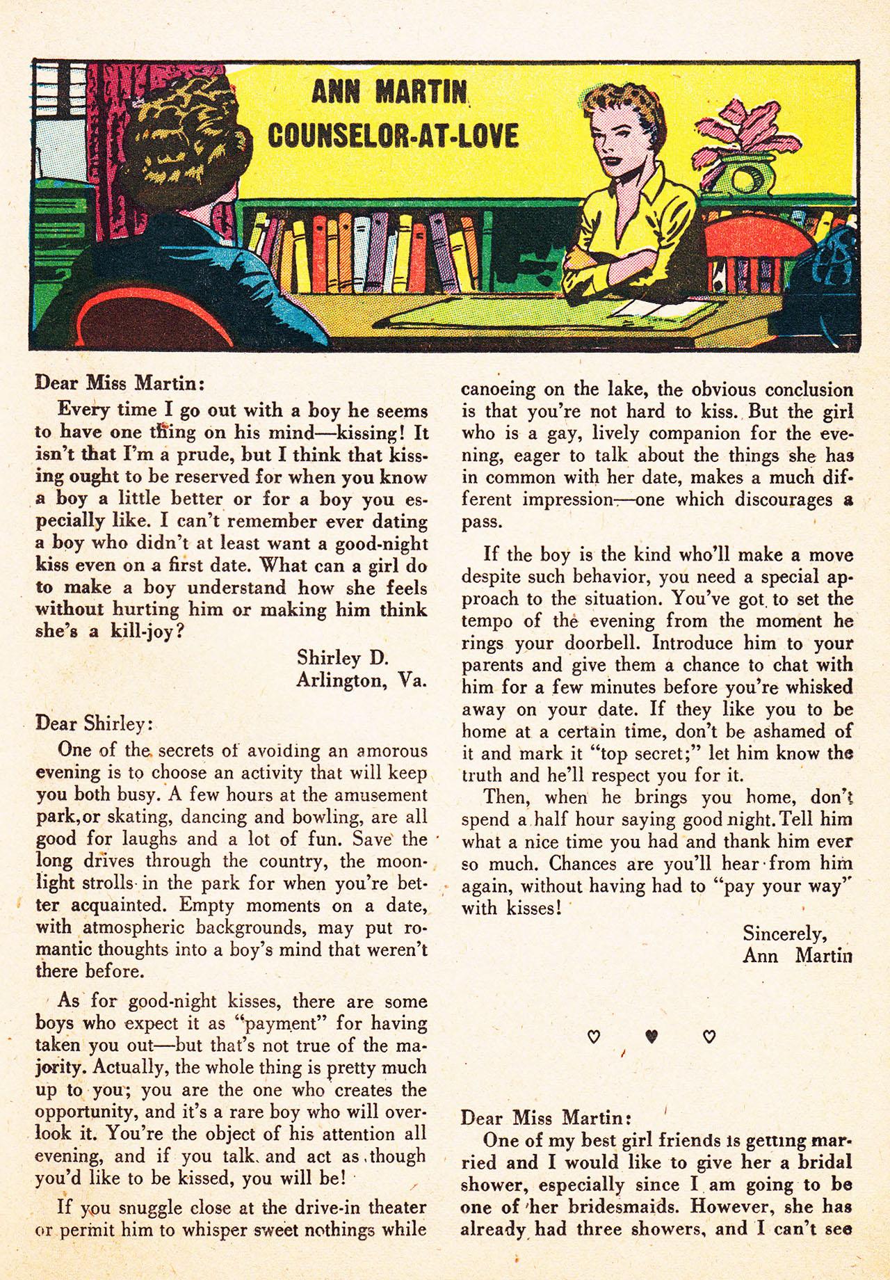Read online Secret Hearts comic -  Issue #13 - 25