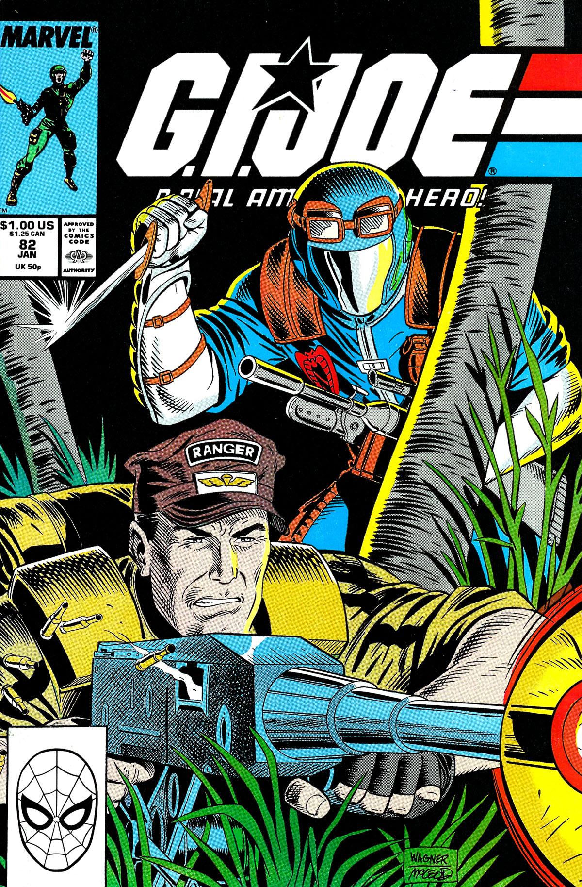 G.I. Joe: A Real American Hero 82 Page 1