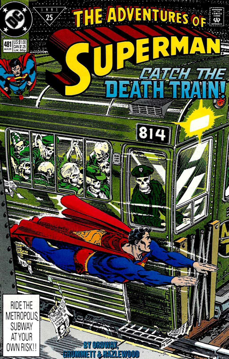 Adventures of Superman (1987) 481 Page 1