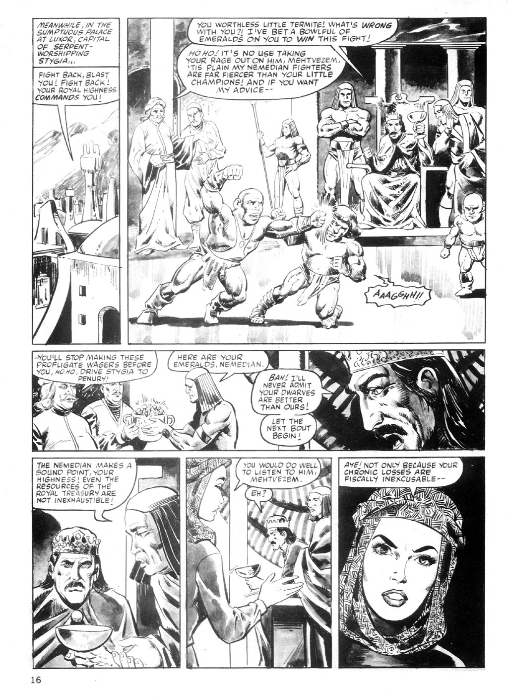 The Savage Sword Of Conan Issue #94 #95 - English 15
