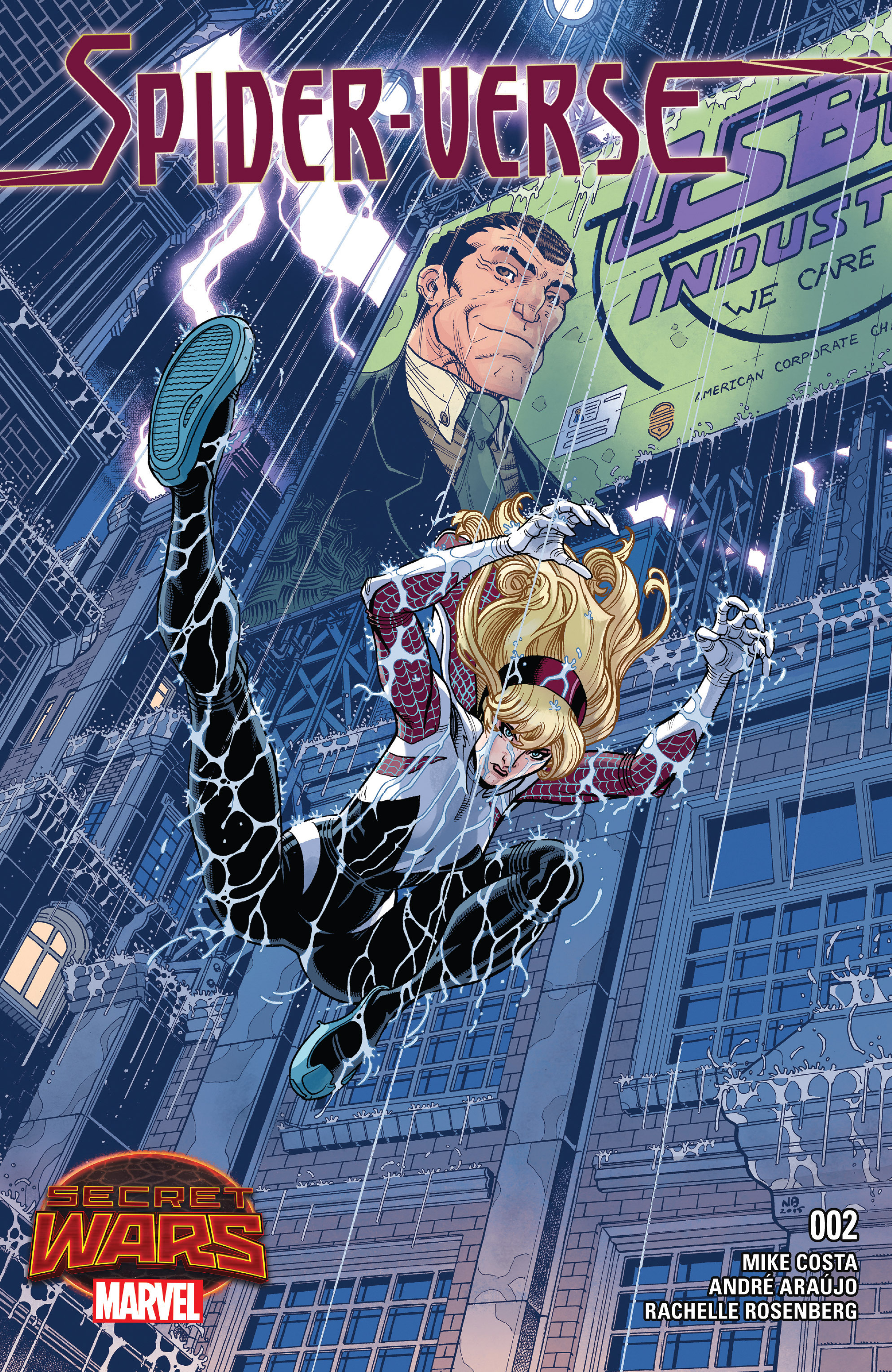Read online Spider-Verse [II] comic -  Issue #2 - 1