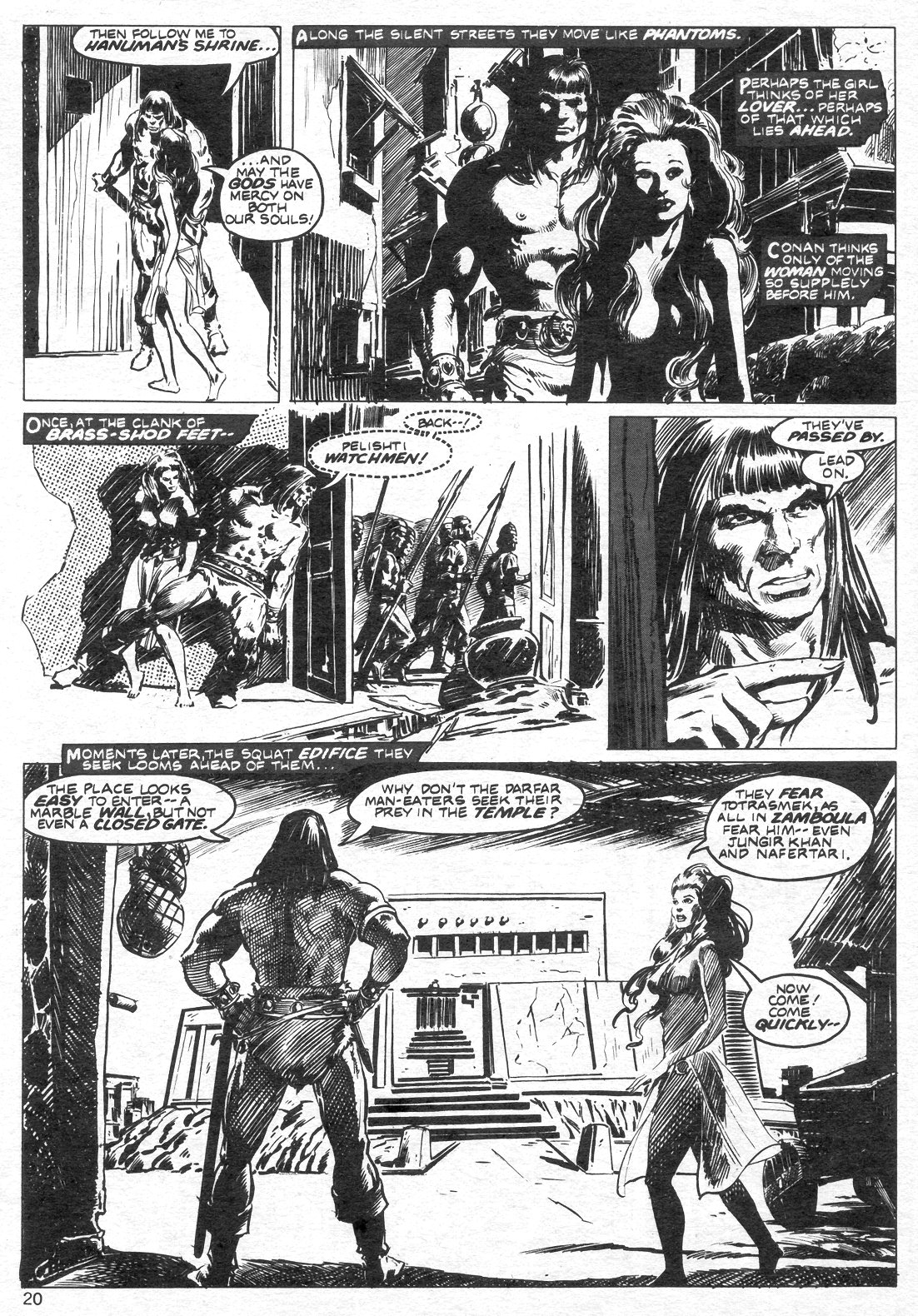 The Savage Sword Of Conan Issue #14 #15 - English 20