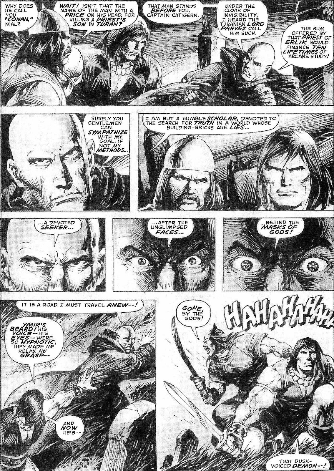 The Savage Sword Of Conan Issue #210 #211 - English 9