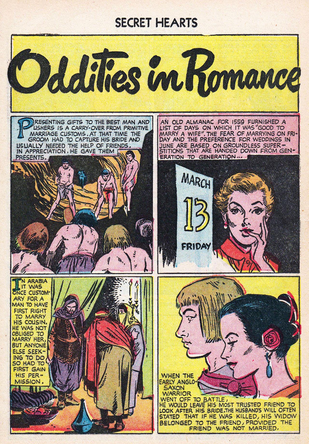 Read online Secret Hearts comic -  Issue #24 - 24