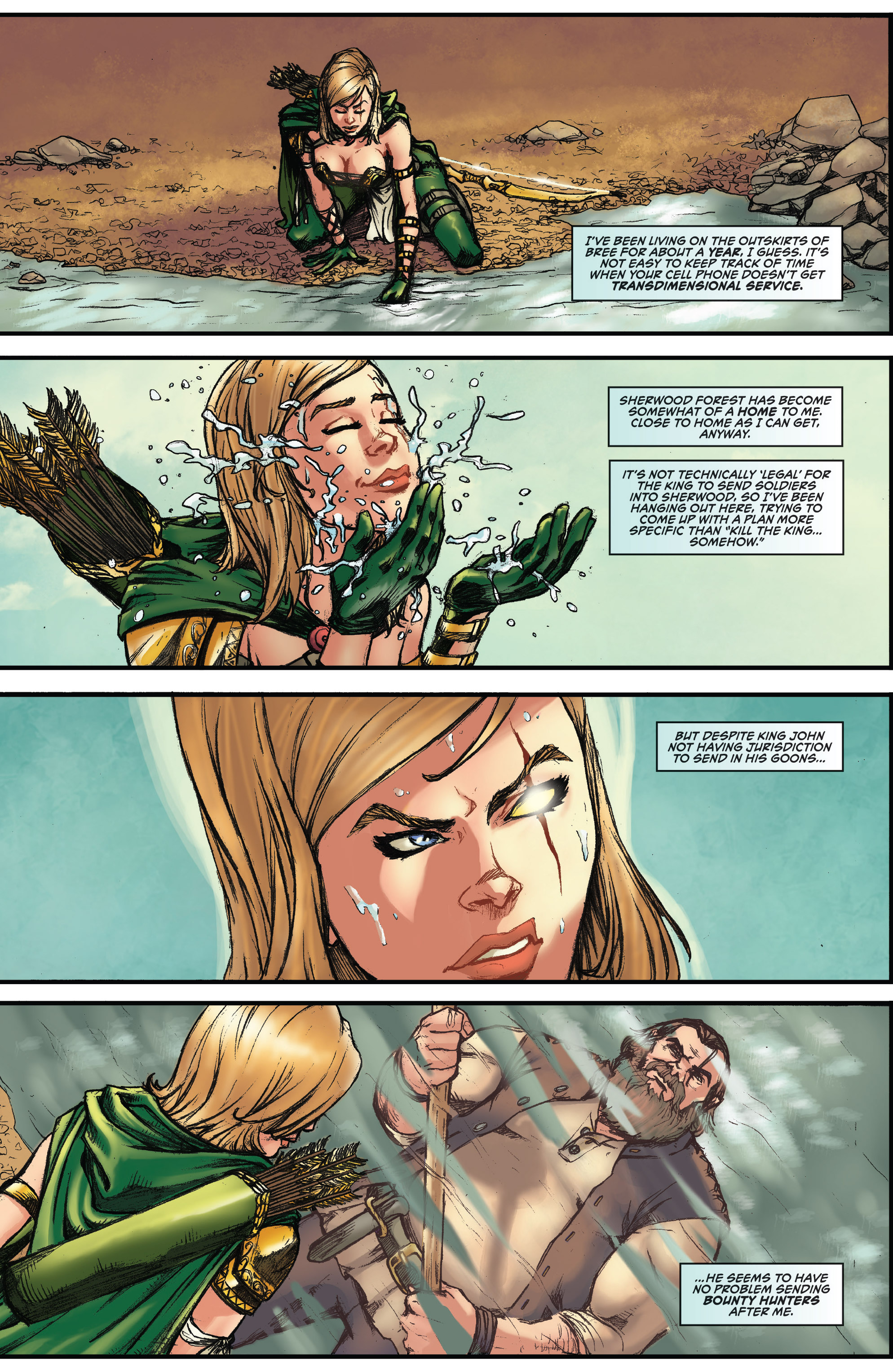 Read online Grimm Fairy Tales presents Robyn Hood (2012) comic -  Issue #3 - 4