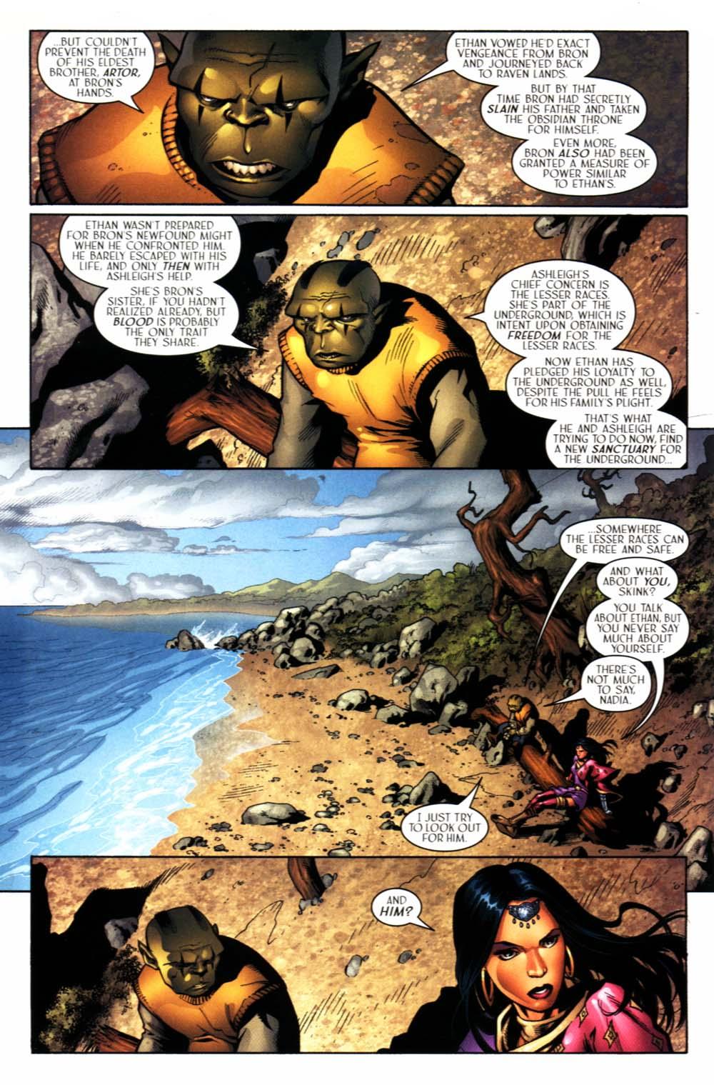 Read online Scion comic -  Issue #22 - 4