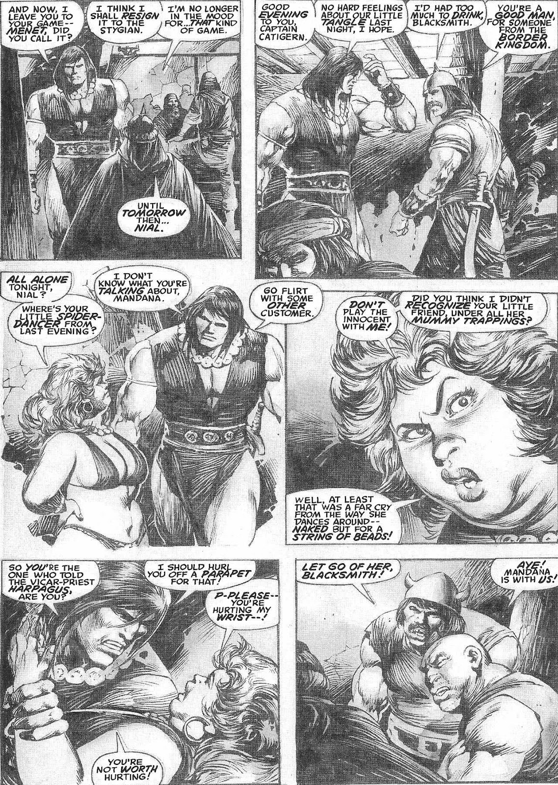 The Savage Sword Of Conan Issue #209 #210 - English 17