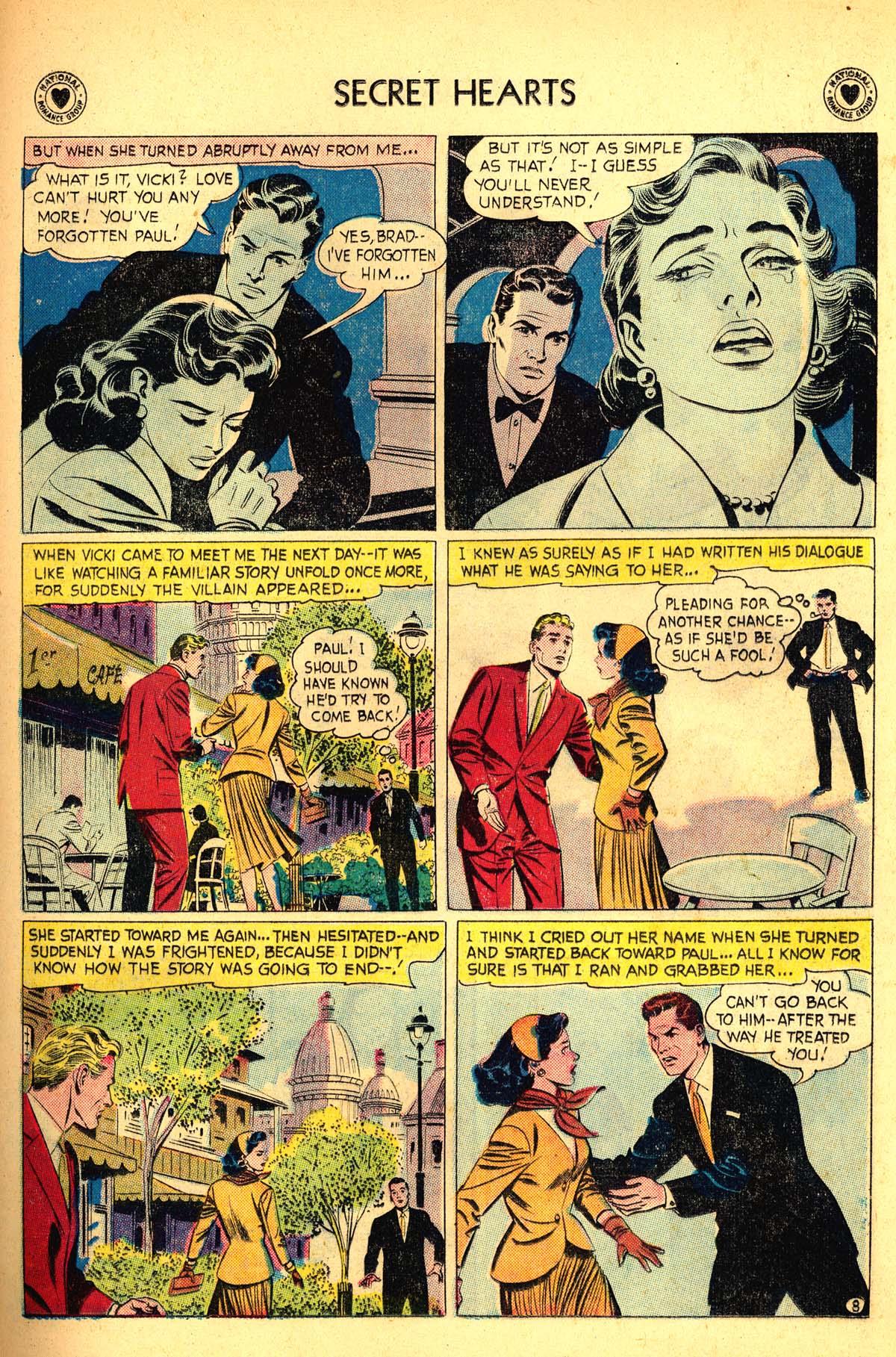 Read online Secret Hearts comic -  Issue #54 - 33