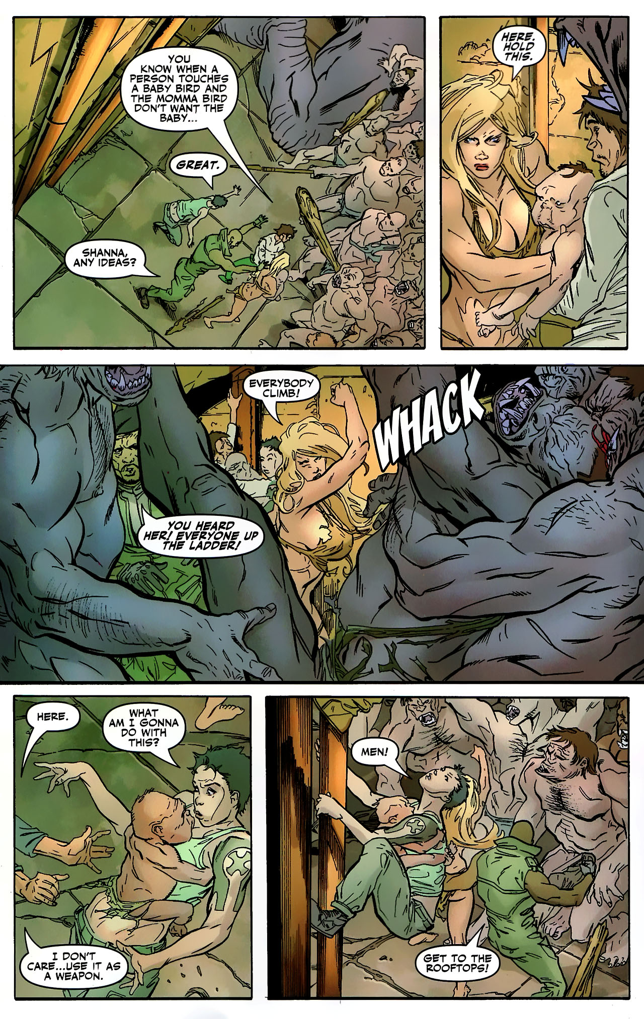 Read online Shanna the She-Devil: Survival of the Fittest comic -  Issue #3 - 14