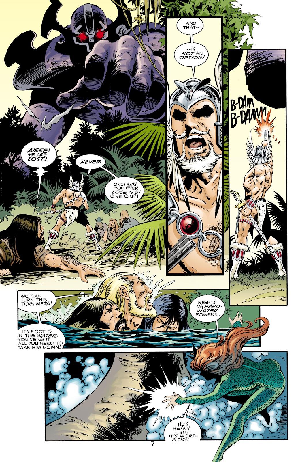 Aquaman (1994) Issue #72 #78 - English 7