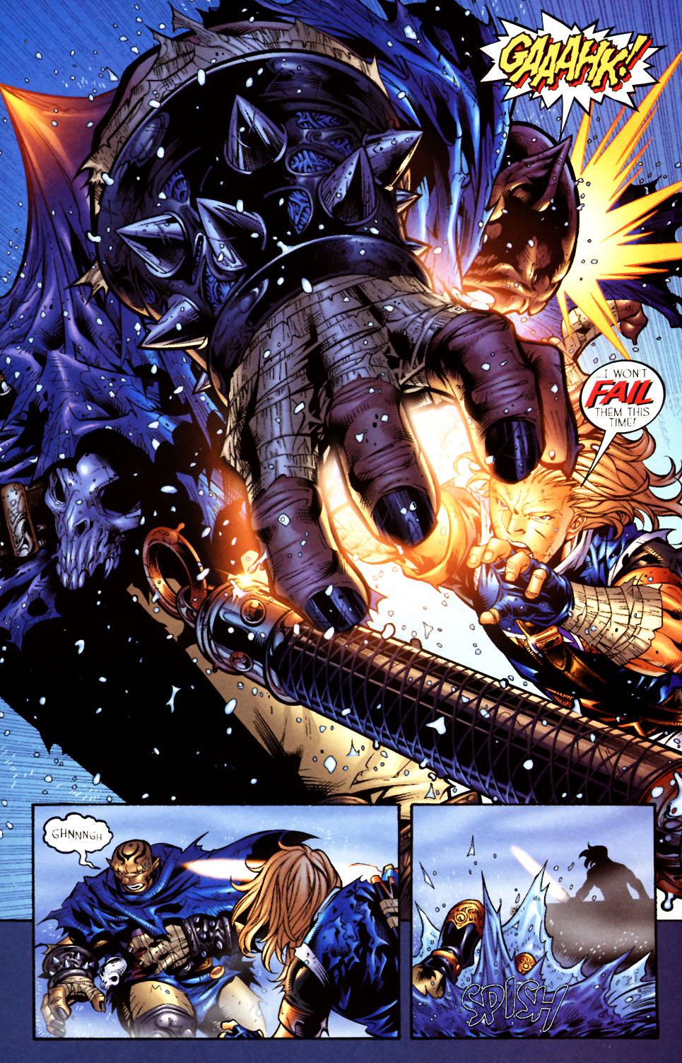 Read online Scion comic -  Issue #4 - 21