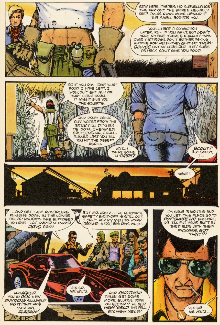 Read online Scout comic -  Issue #2 - 13