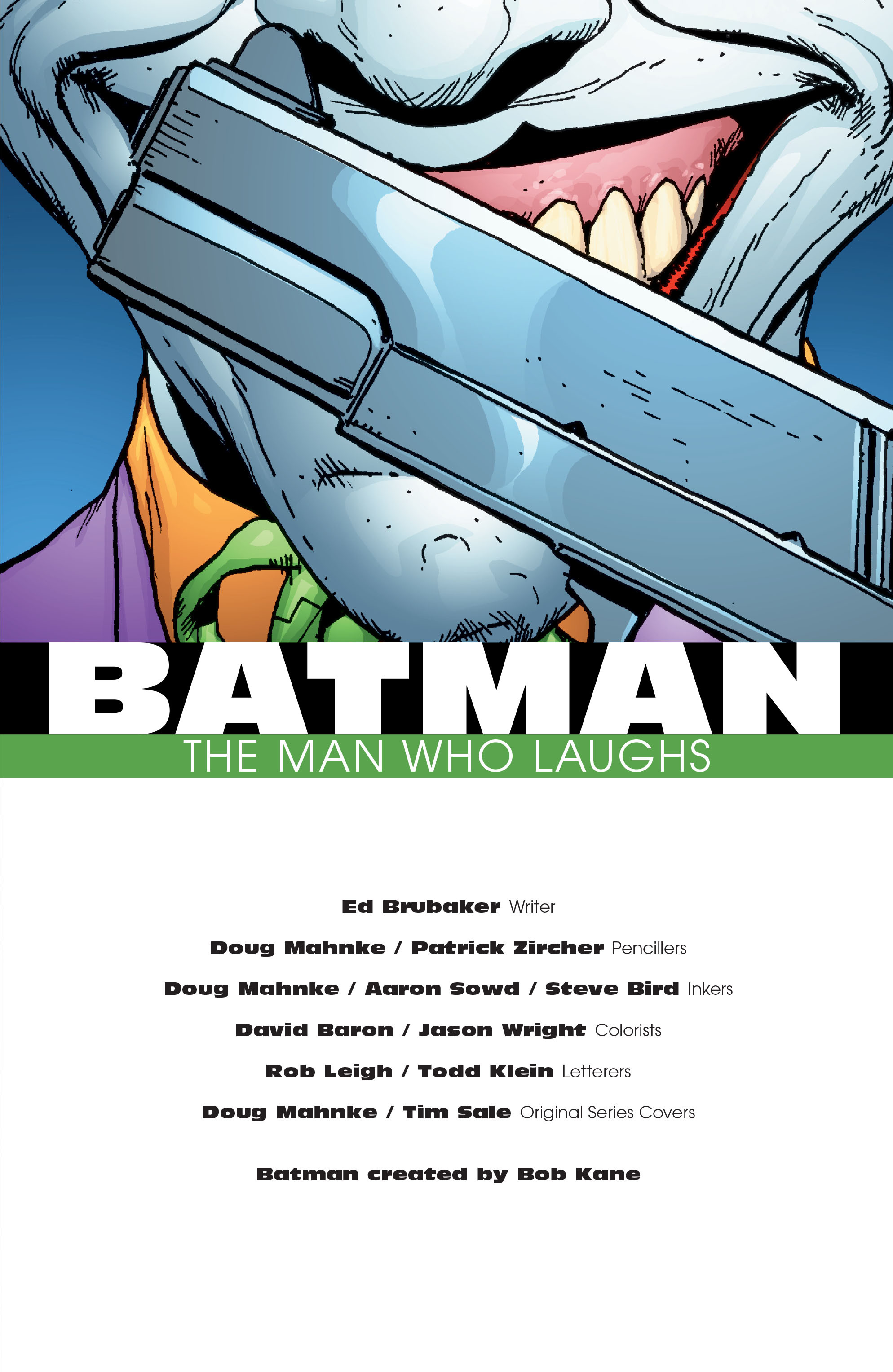 Batman: The Man Who Laughs chap 1 pic 4