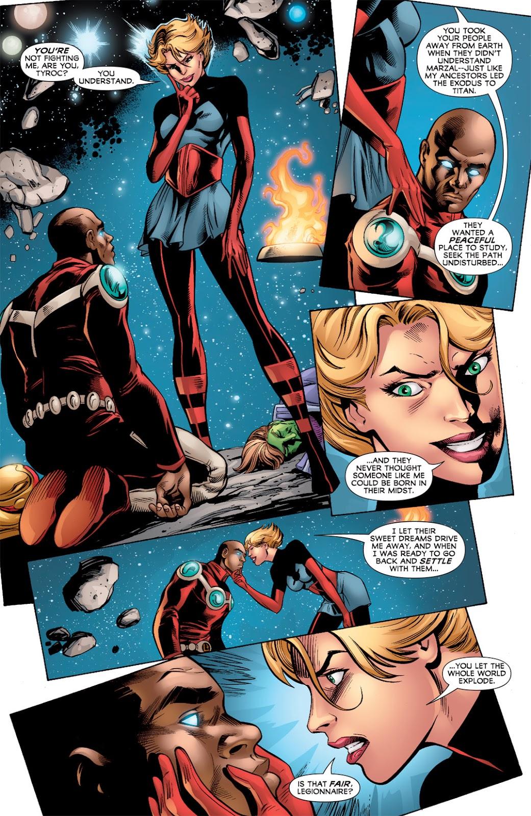 Legion of Super-Heroes (2010) Issue #3 #4 - English 9