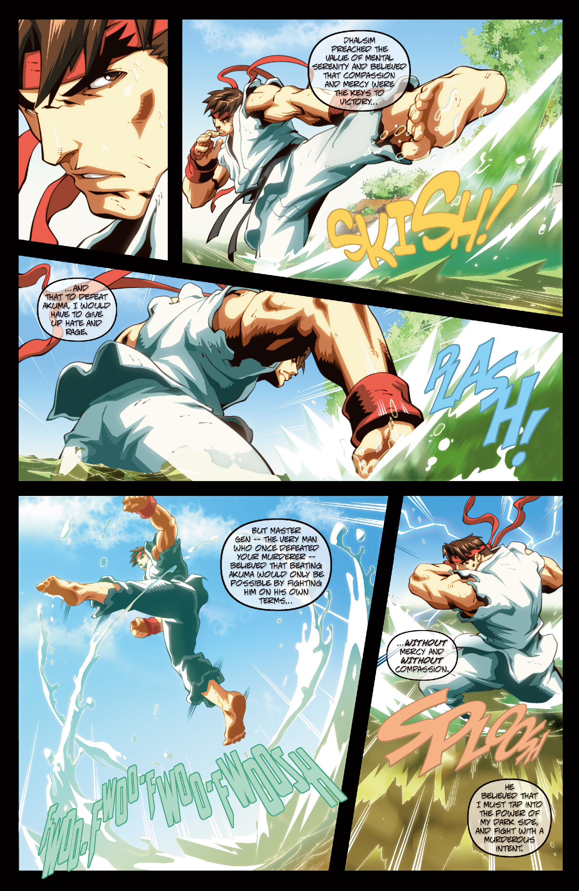 Street Fighter II chap 6 pic 5
