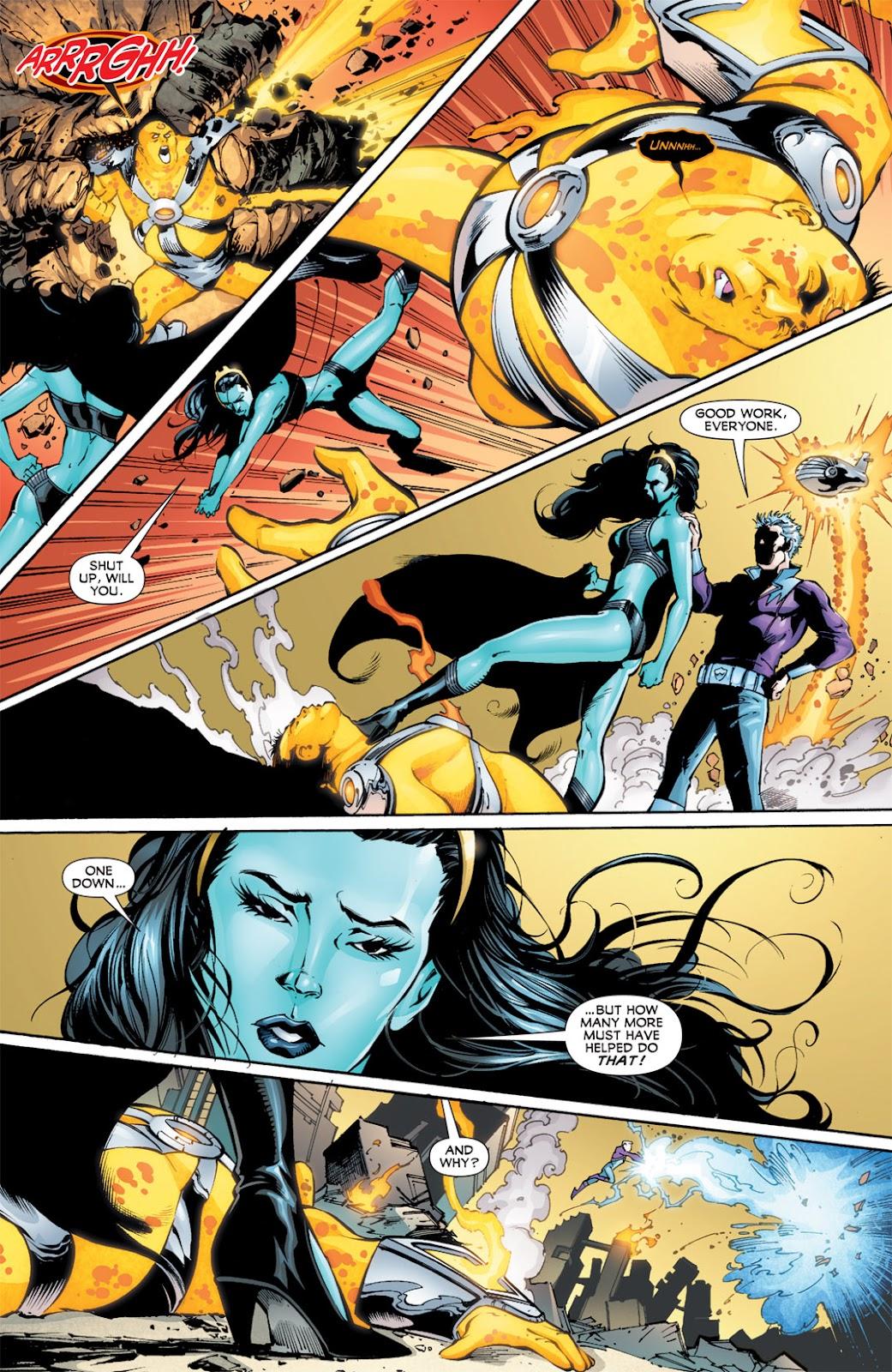 Legion of Super-Heroes (2010) Issue #13 #14 - English 11