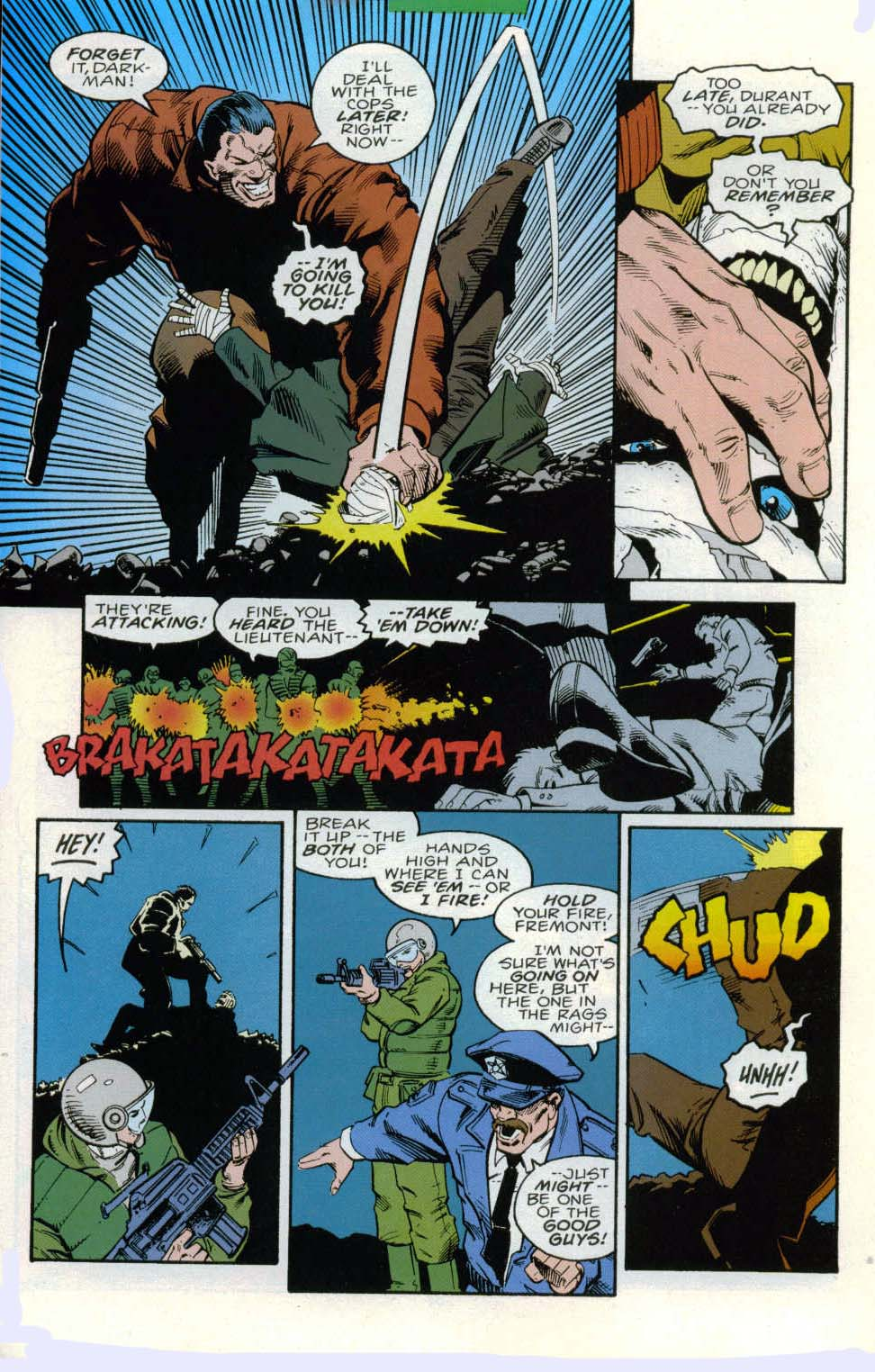Darkman (1993) #6 #6 - English 15