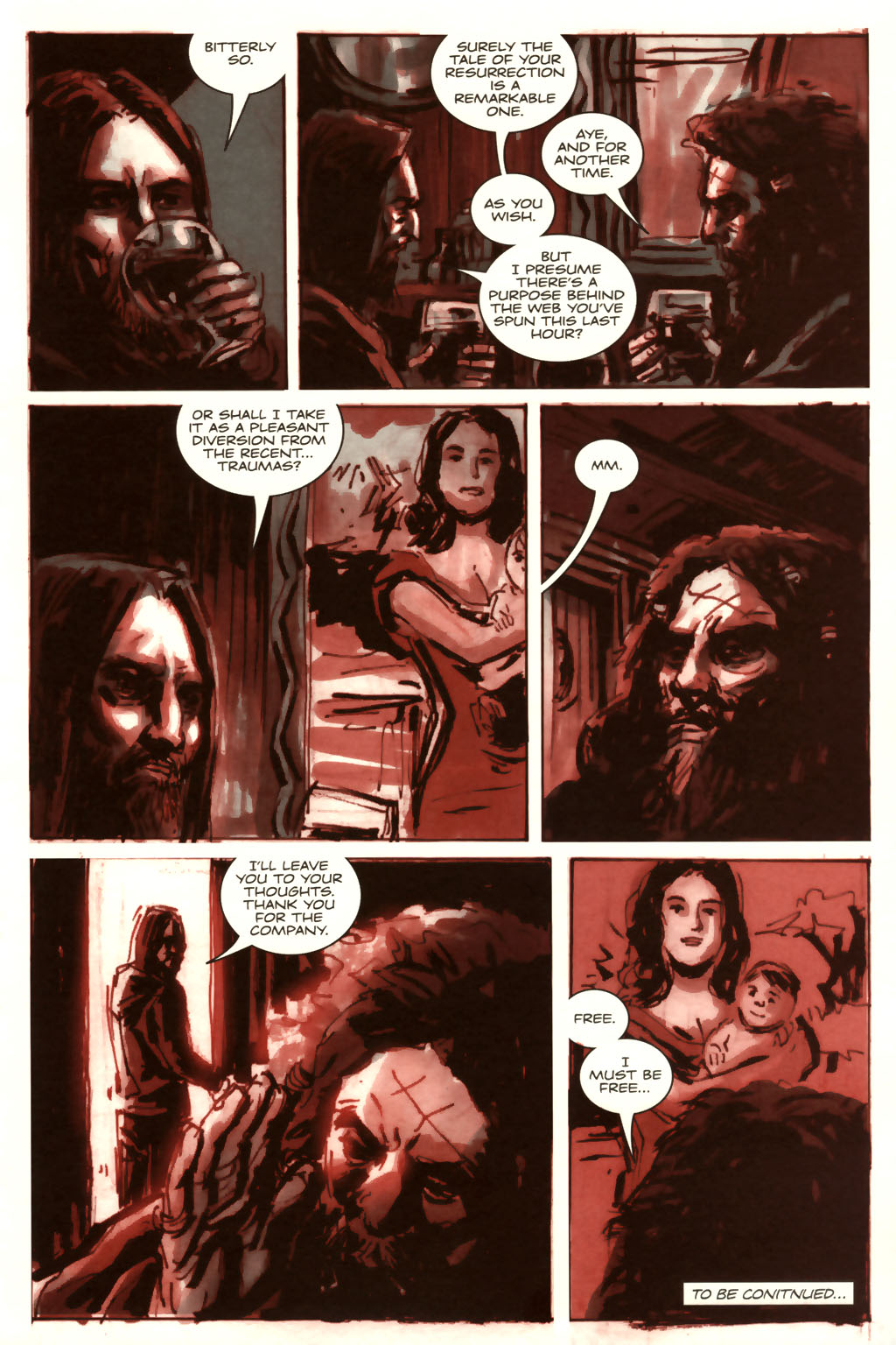 Read online Sea of Red comic -  Issue #9 - 24