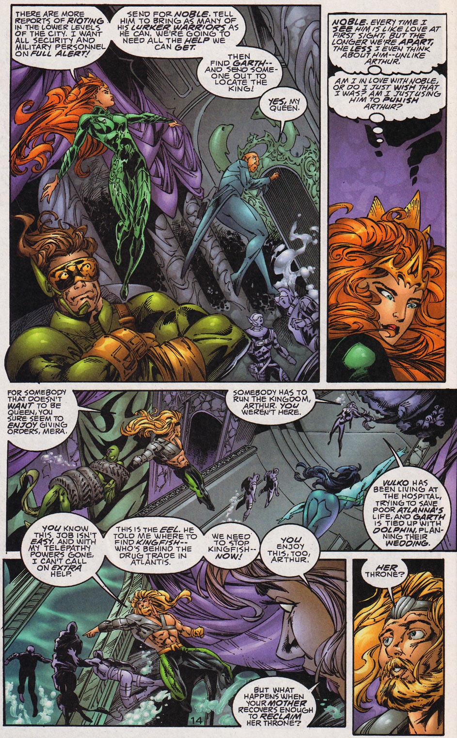 Aquaman (1994) Issue #59 #65 - English 15
