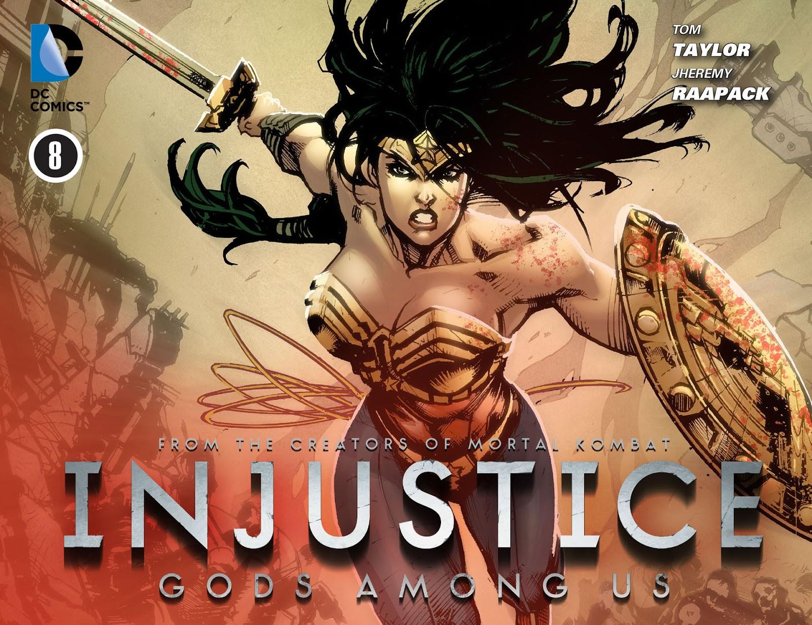 Injustice: Gods Among Us [I] Issue #8 #9 - English 1
