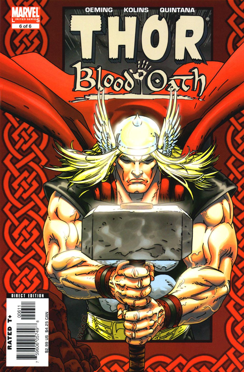 Read online Thor: Blood Oath comic -  Issue #6 - 1