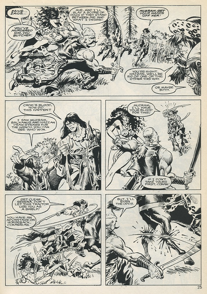 The Savage Sword Of Conan Issue #131 #132 - English 25