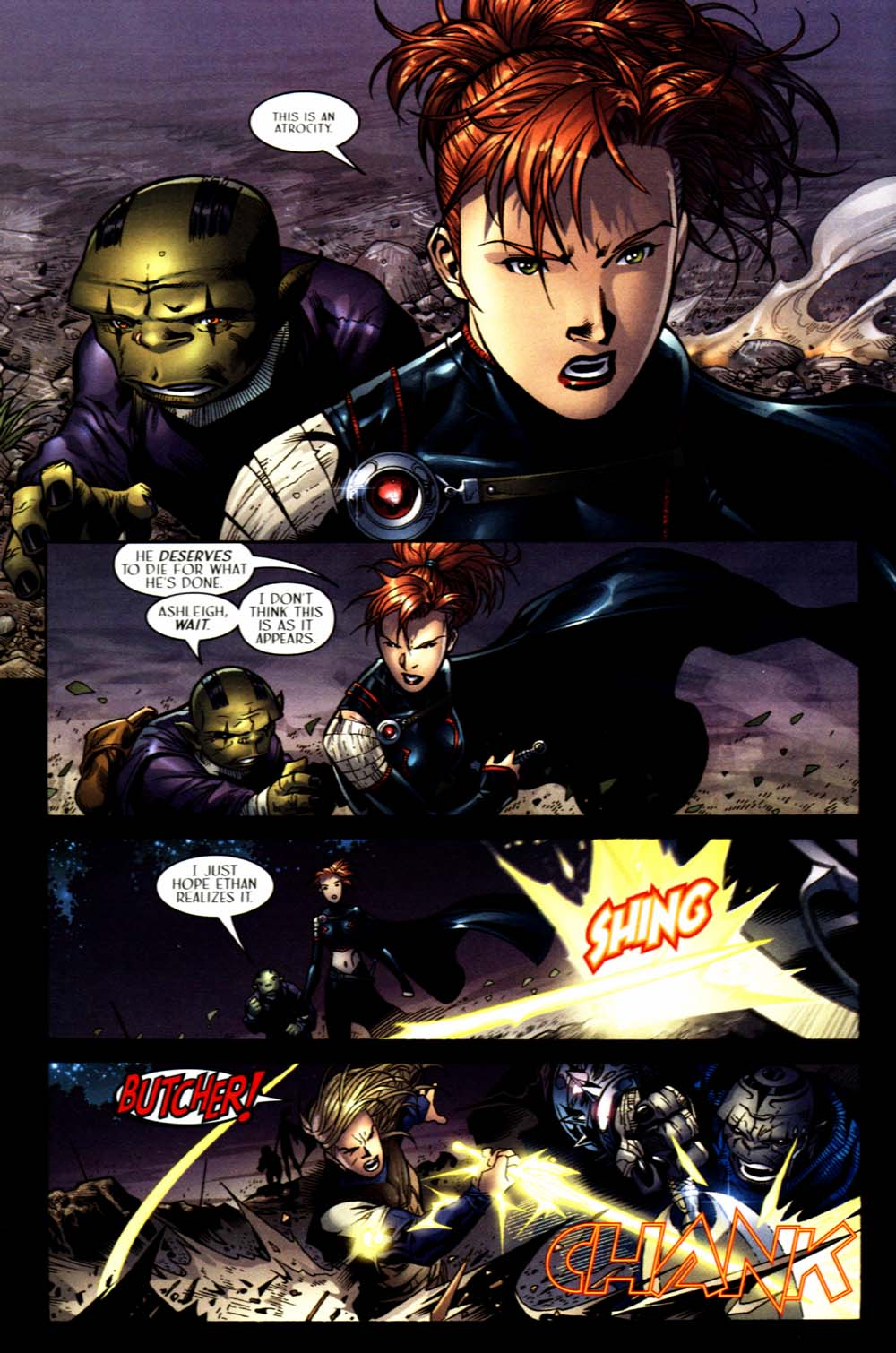Read online Scion comic -  Issue #16 - 8
