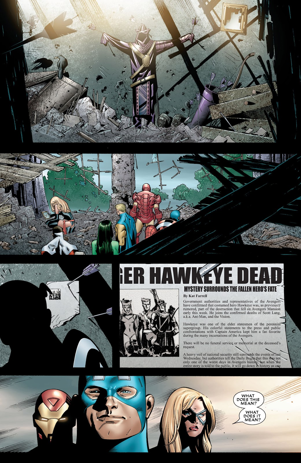 House of M (2005) Issue #8 #8 - English 20