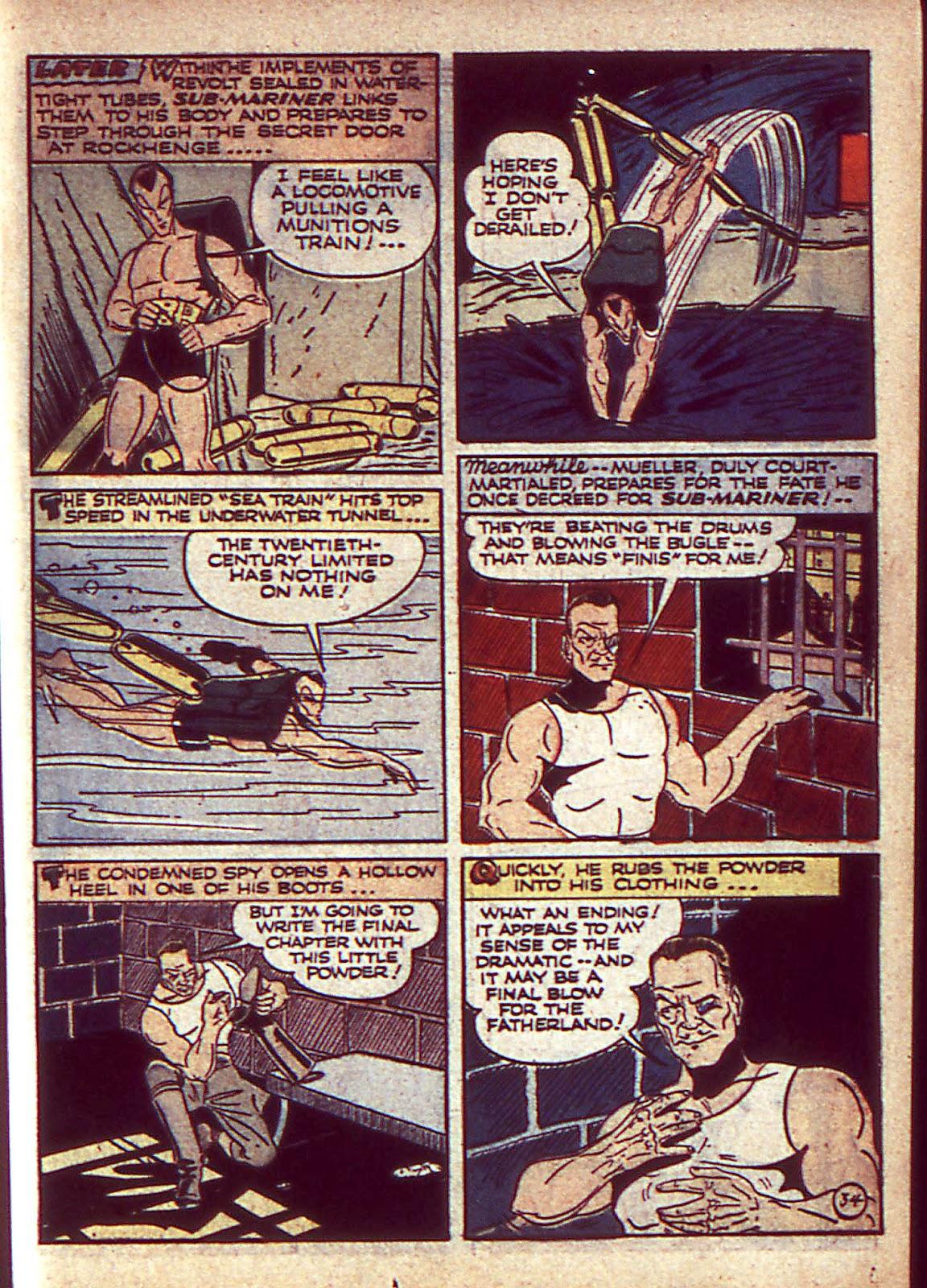 Sub-Mariner Comics Issue #3 #3 - English 38