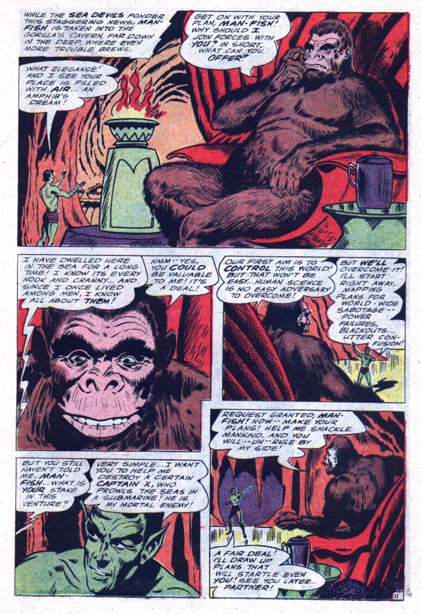 Read online Sea Devils comic -  Issue #30 - 16