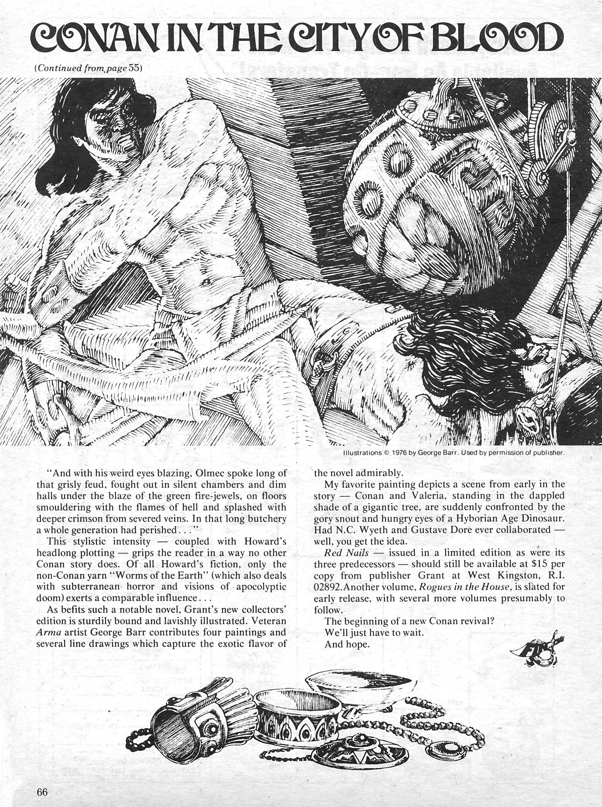 The Savage Sword Of Conan Issue #15 #16 - English 65