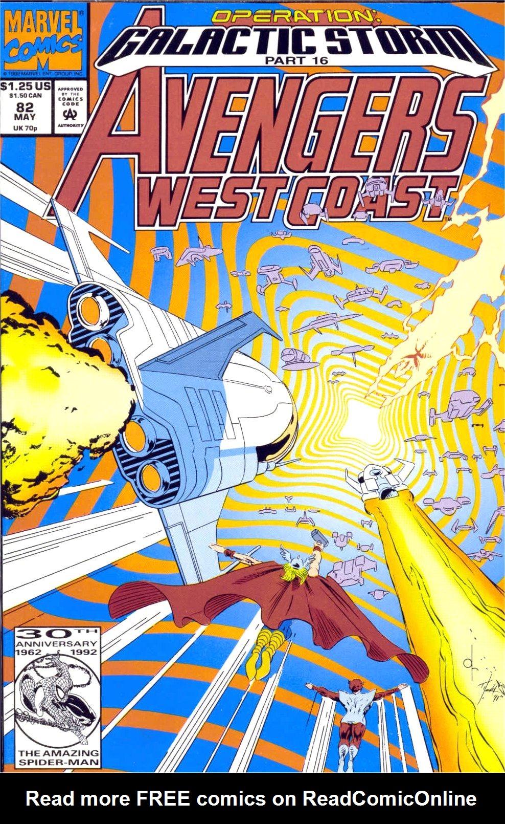 Avengers West Coast (1989) 82 Page 1