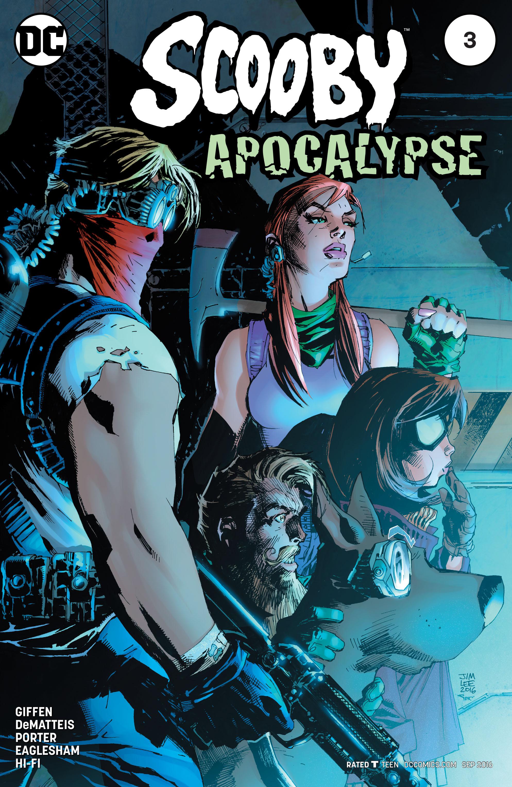 Read online Scooby Apocalypse comic -  Issue #3 - 1