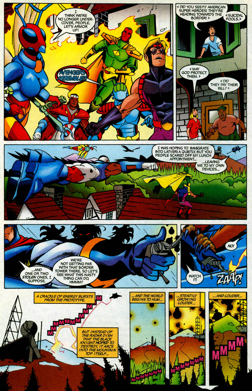 Read online Avengers United They Stand comic -  Issue #4 - 6