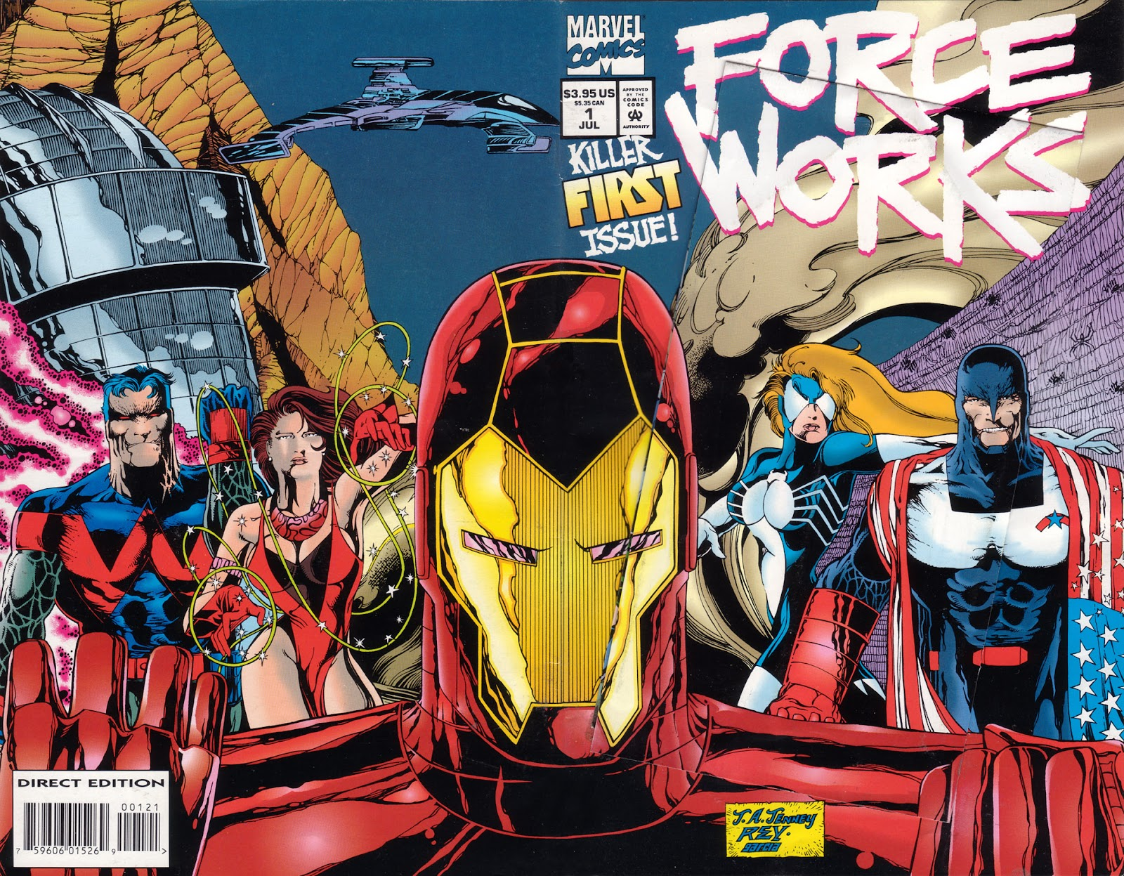 Force Works Issue #1 #1 - English 2