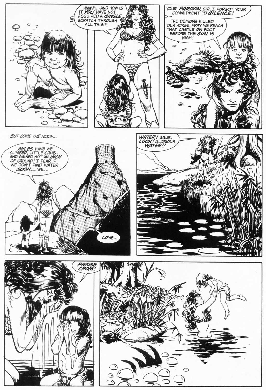 The Savage Sword Of Conan Issue #157 #158 - English 59