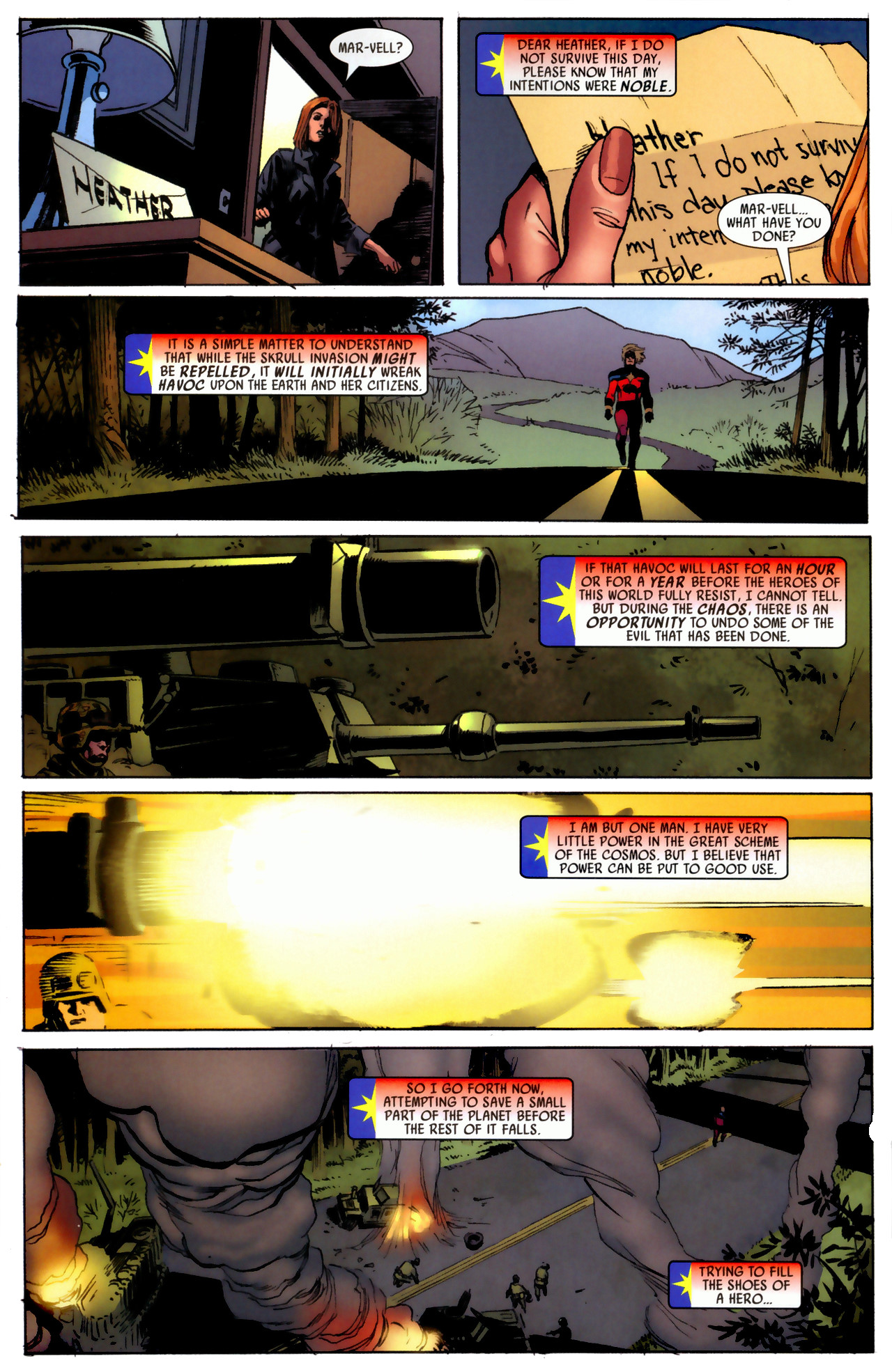 Read online Secret Invasion: Who Do You Trust? comic -  Issue # Full - 11