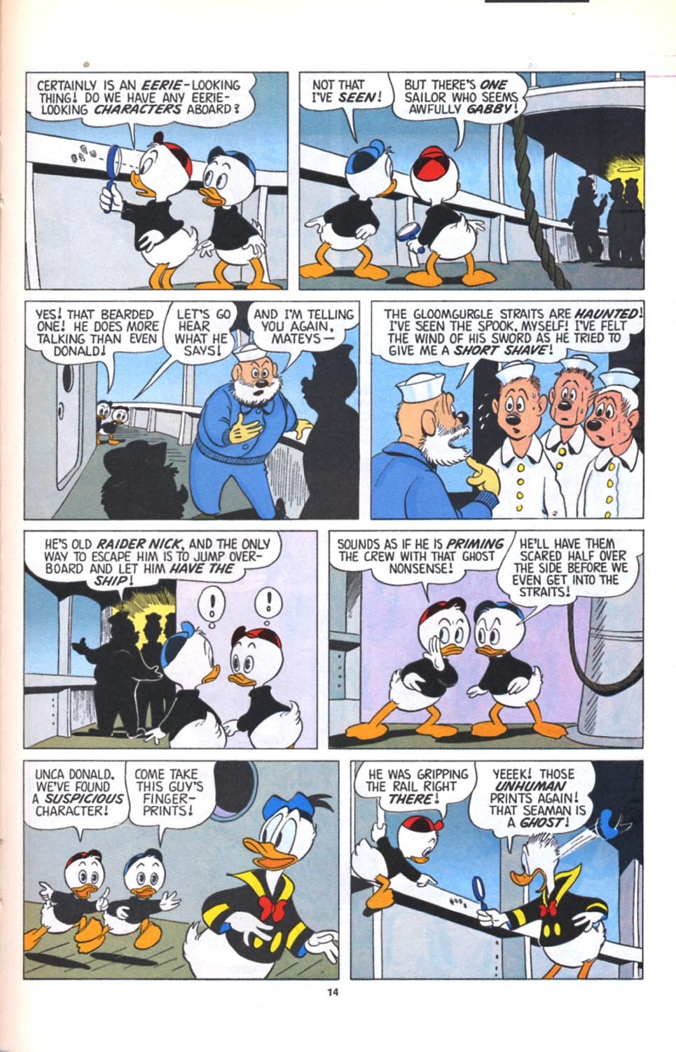 ll>Uncle Scrooge (1953)  #125 - English 15