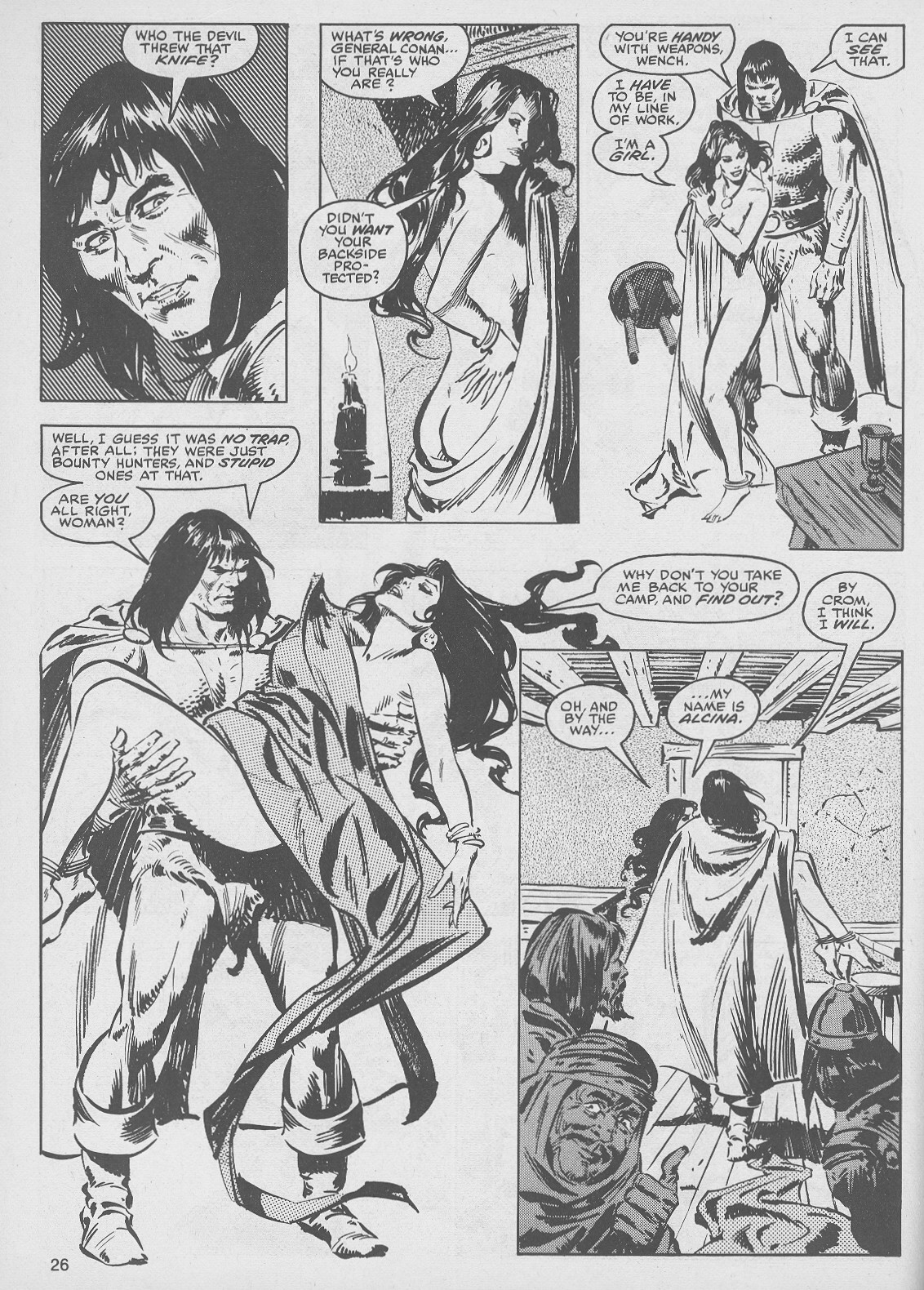 The Savage Sword Of Conan Issue #49 #50 - English 26