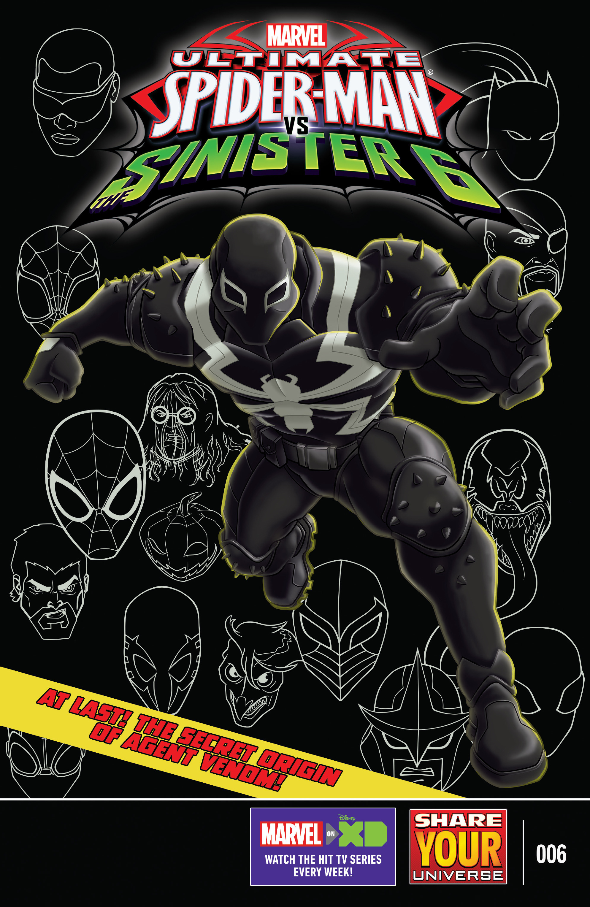 marvel universe ultimate spider man vs the sinister six chapter 6 pic