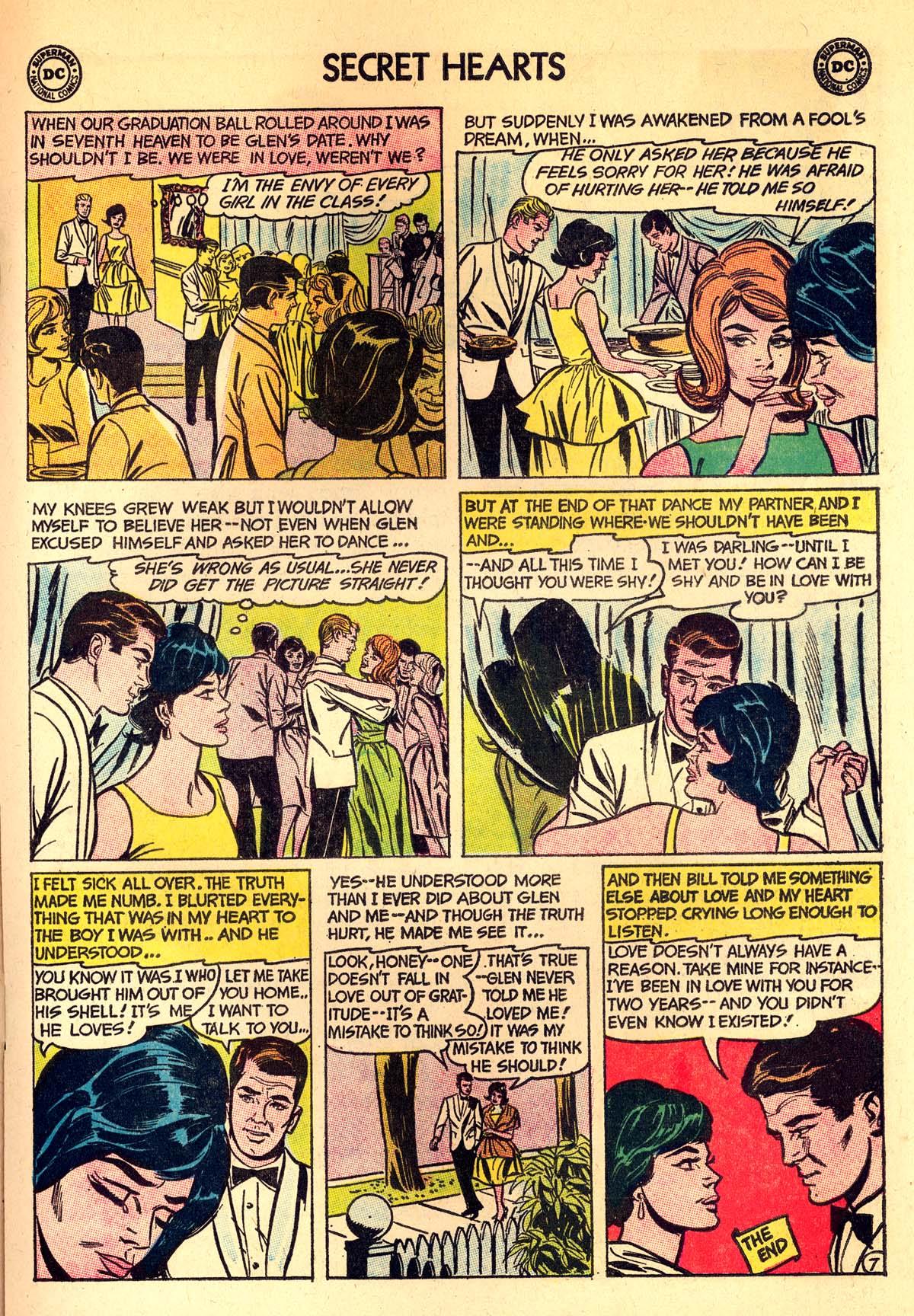 Read online Secret Hearts comic -  Issue #89 - 17