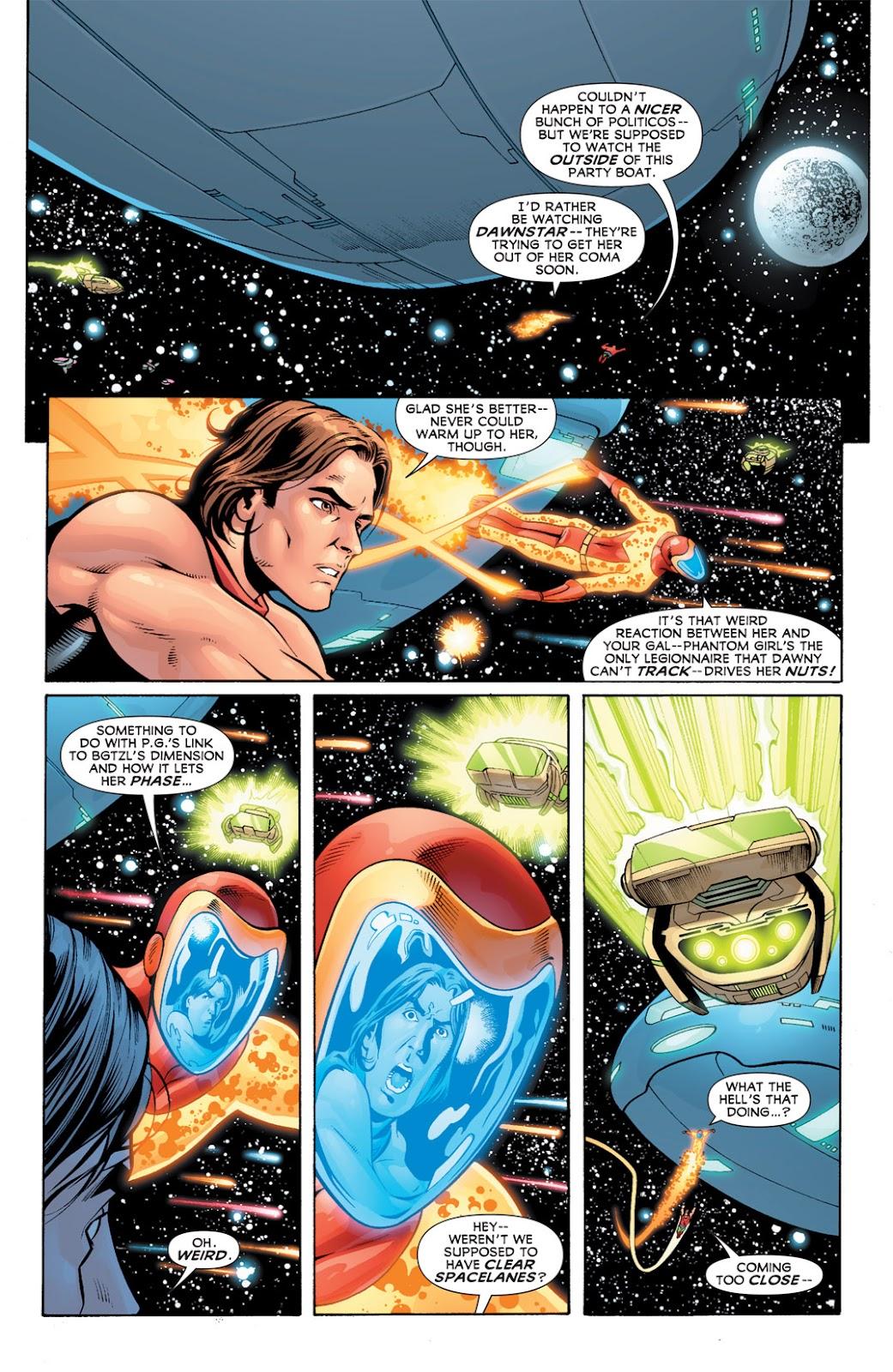 Legion of Super-Heroes (2010) Issue #10 #11 - English 3