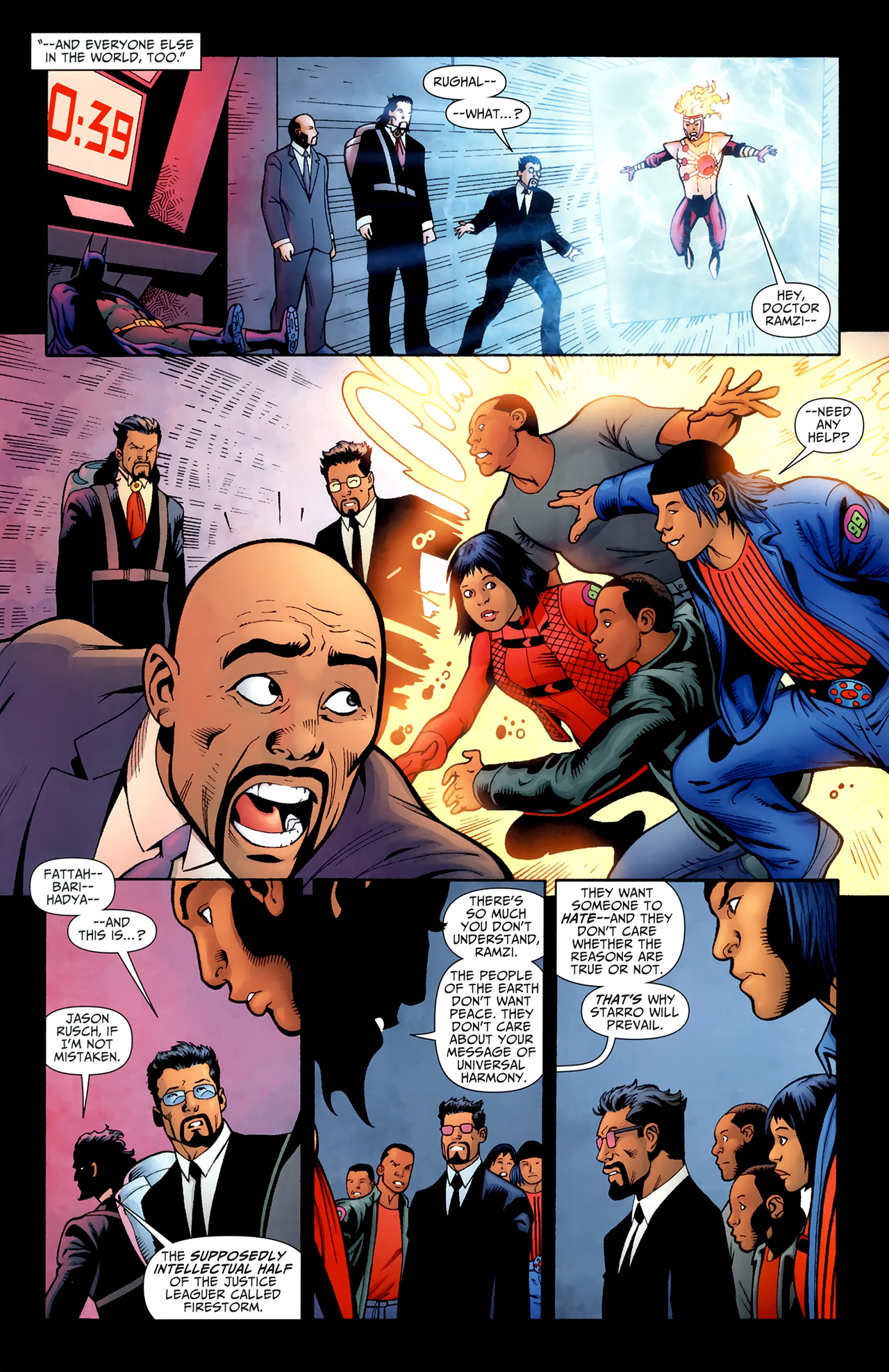 Read online Justice League of America/The 99 comic -  Issue #6 - 10