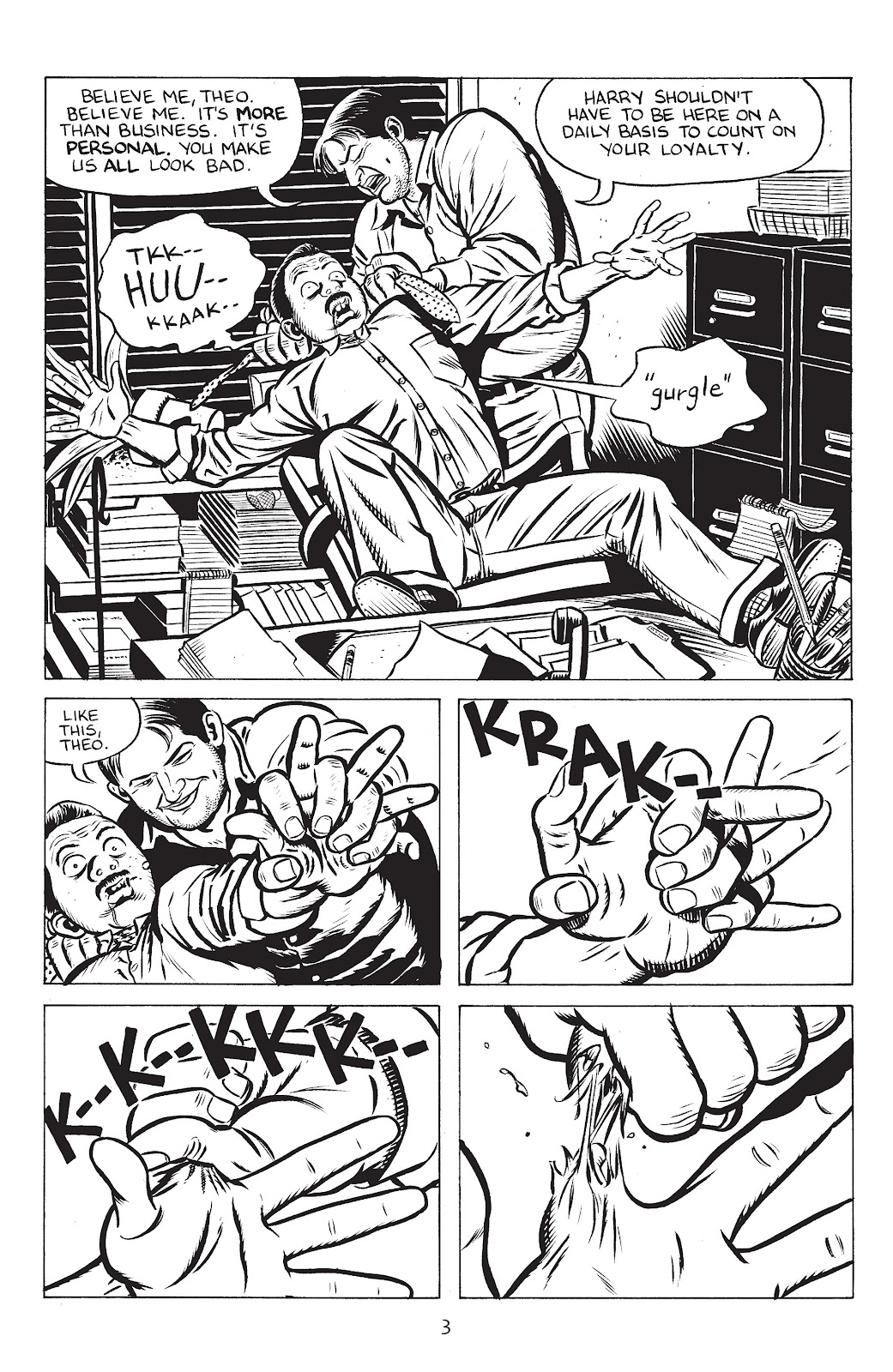 Stray Bullets Issue #32 #32 - English 5