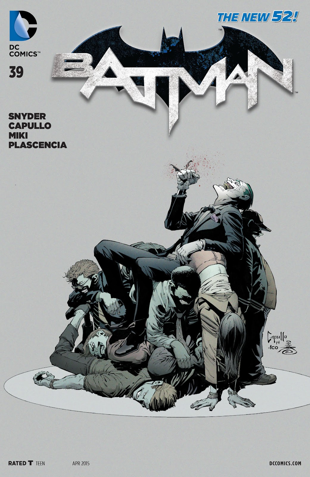 Batman (2011) Issue #39 #58 - English 2