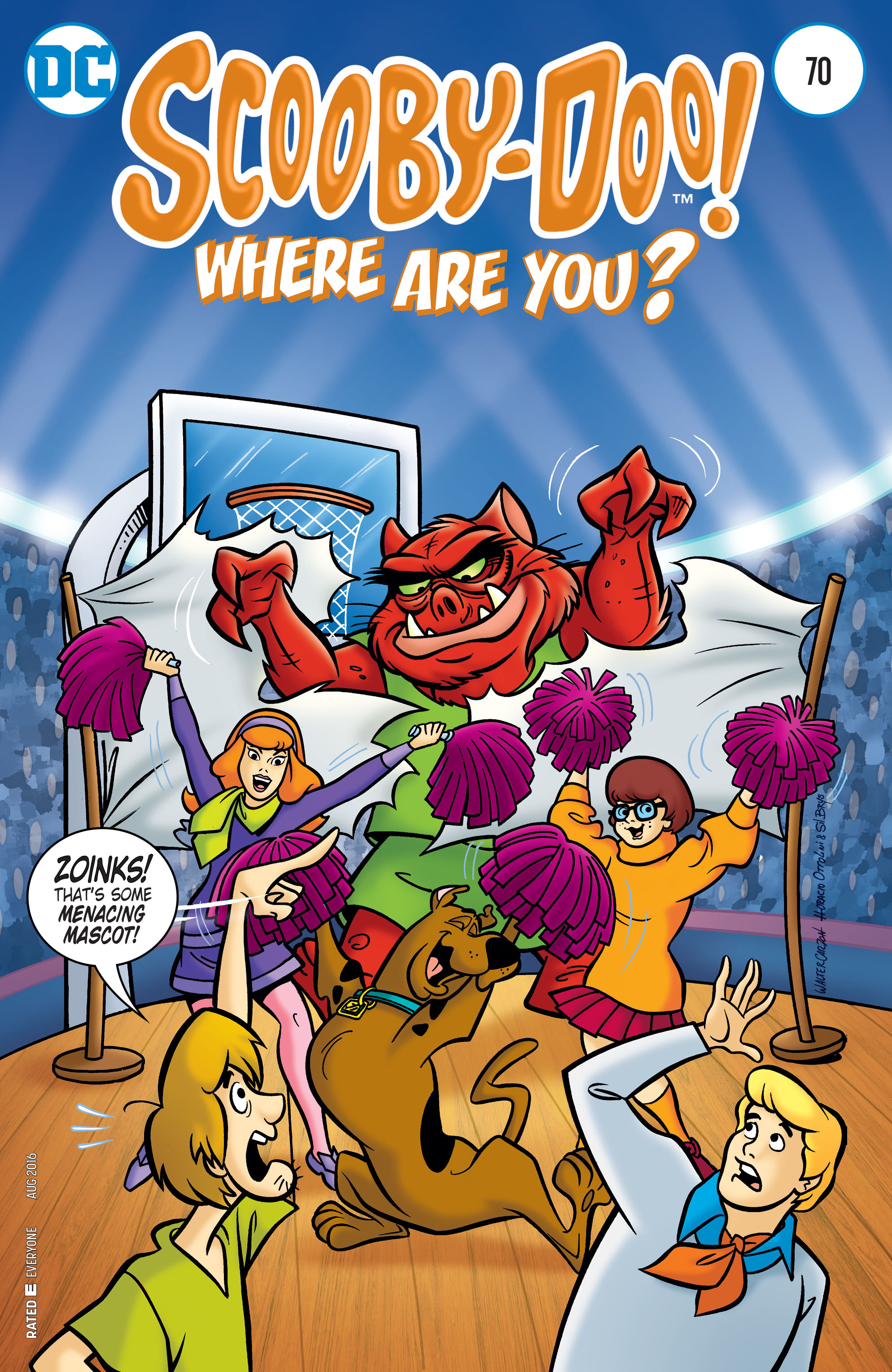Read online Scooby-Doo: Where Are You? comic -  Issue #70 - 1
